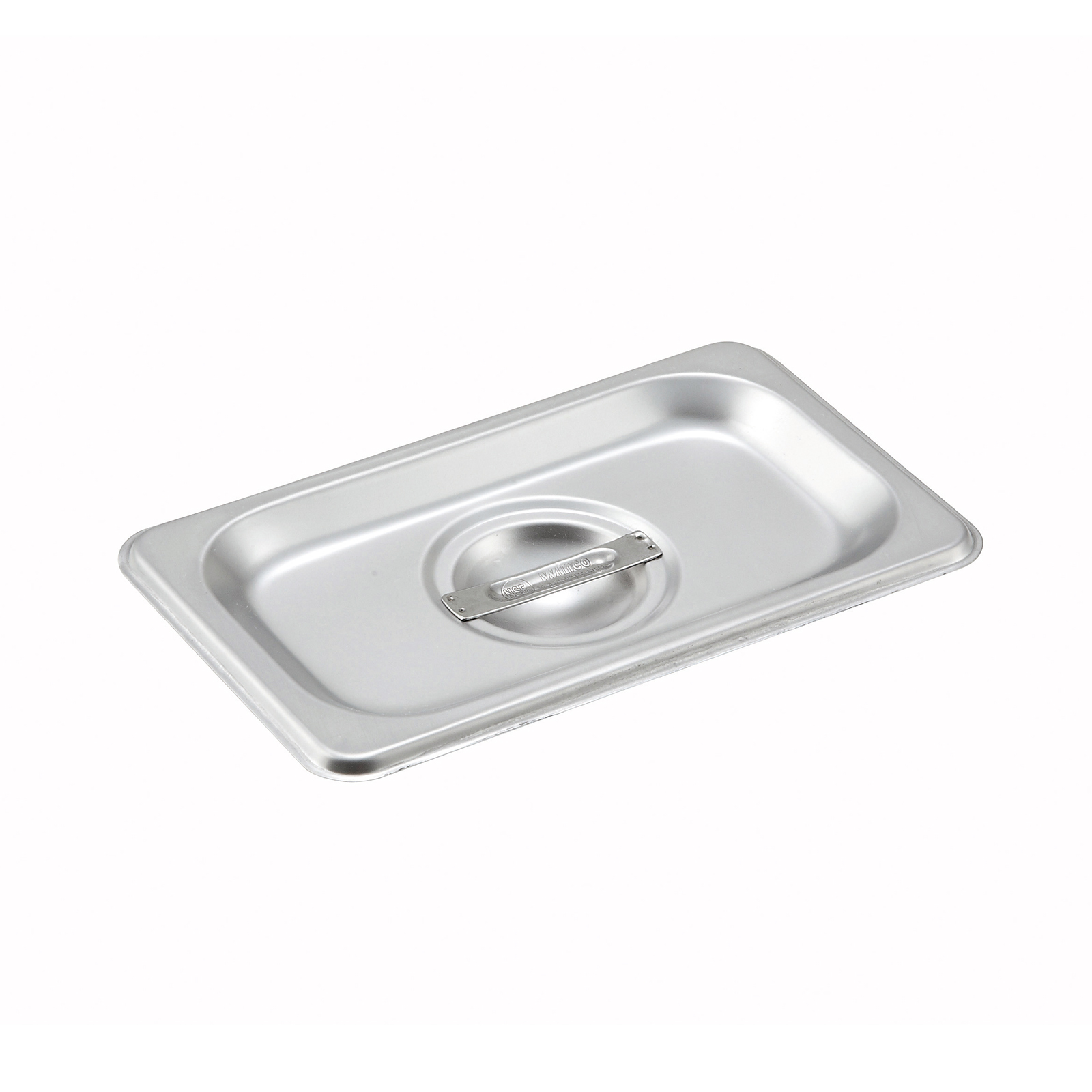 Winco SPCN steam table pan cover, stainless steel