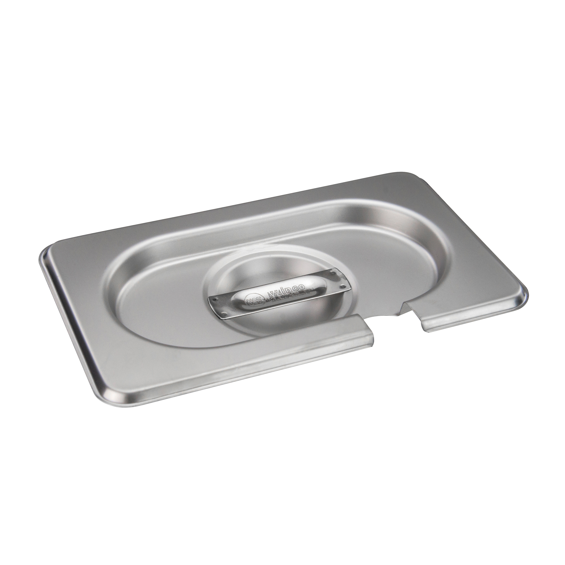 Winco SPCN-GN steam table pan cover, stainless steel