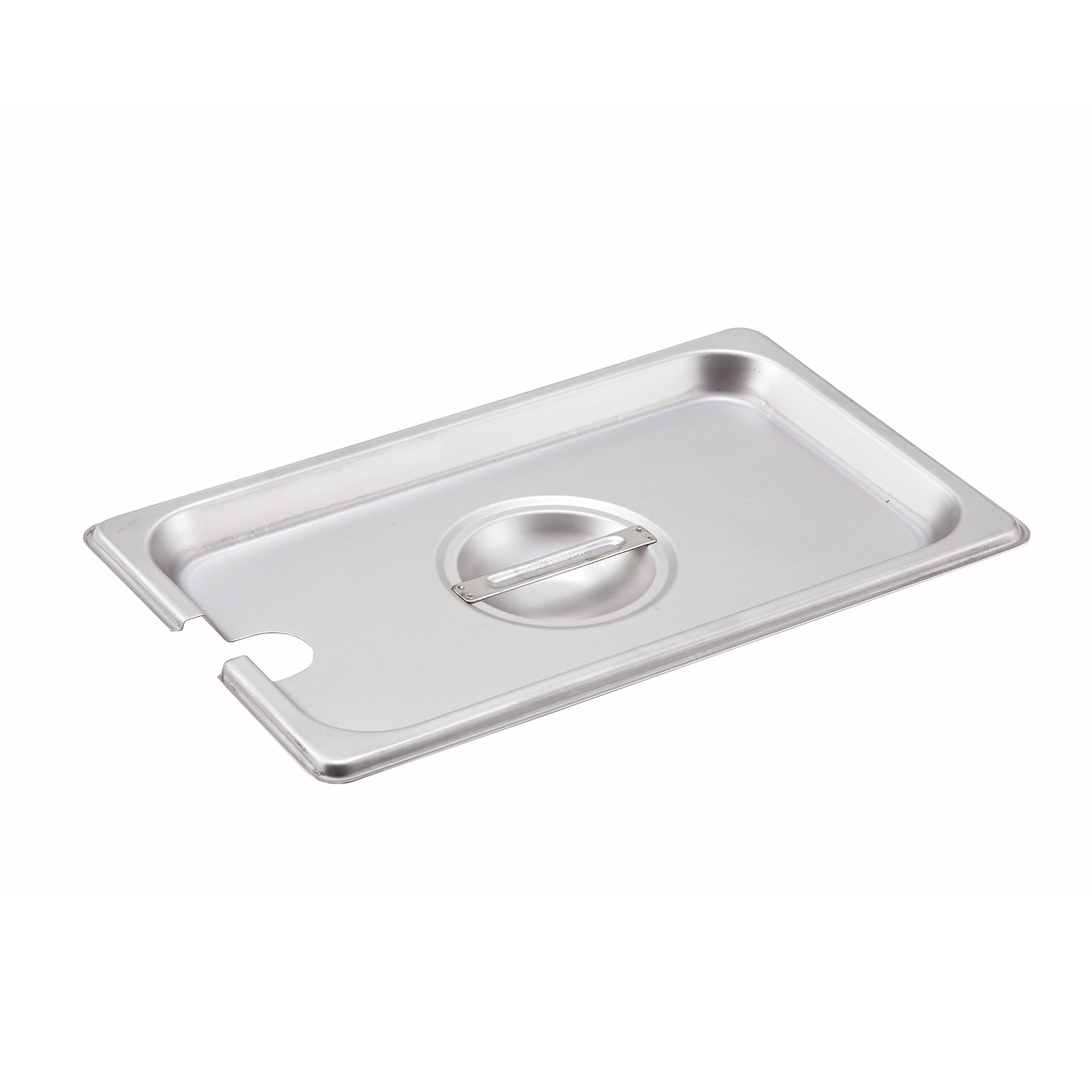 Winco SPCQ steam table pan cover, stainless steel