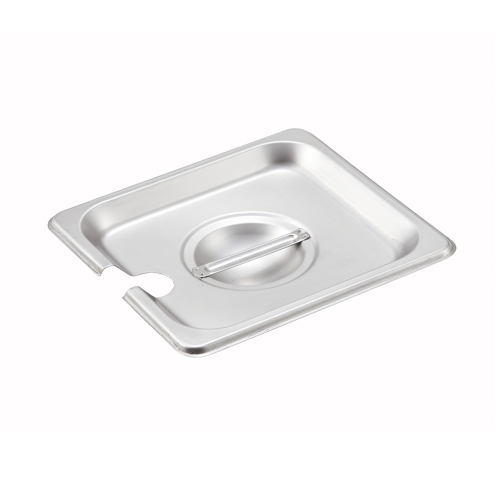 Winco SPCS steam table pan cover, stainless steel