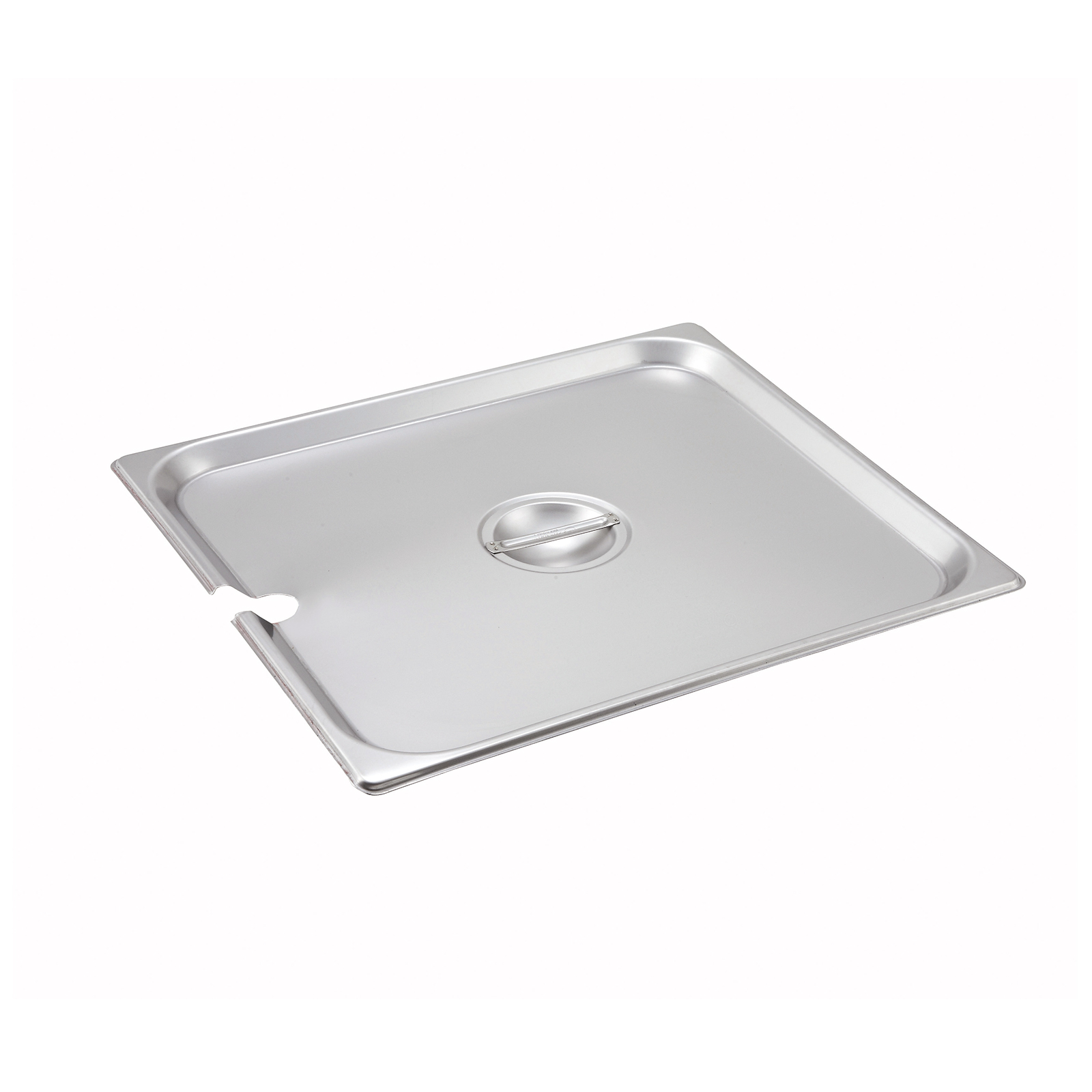 Winco SPCTT steam table pan cover, stainless steel