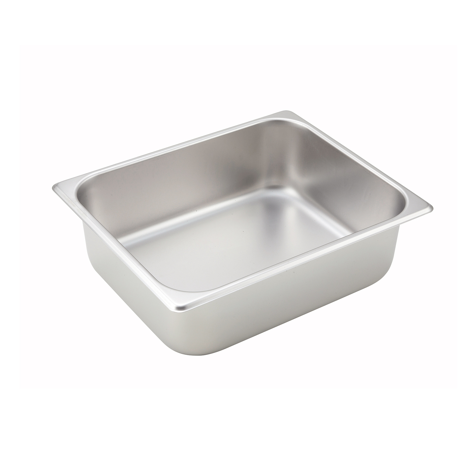 Winco SPH4 steam table pan, stainless steel