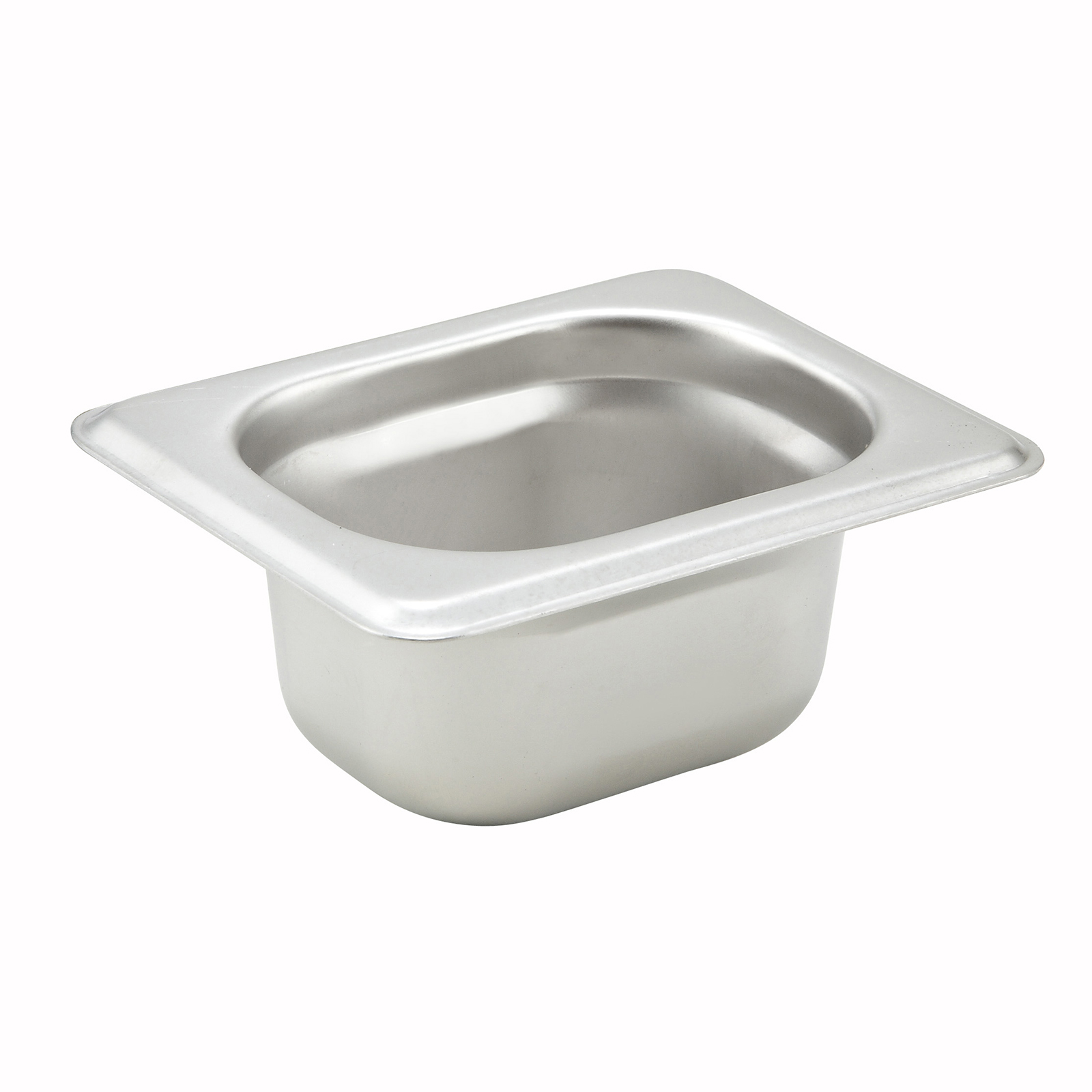 Winco SPJH-1802 steam table pan, stainless steel