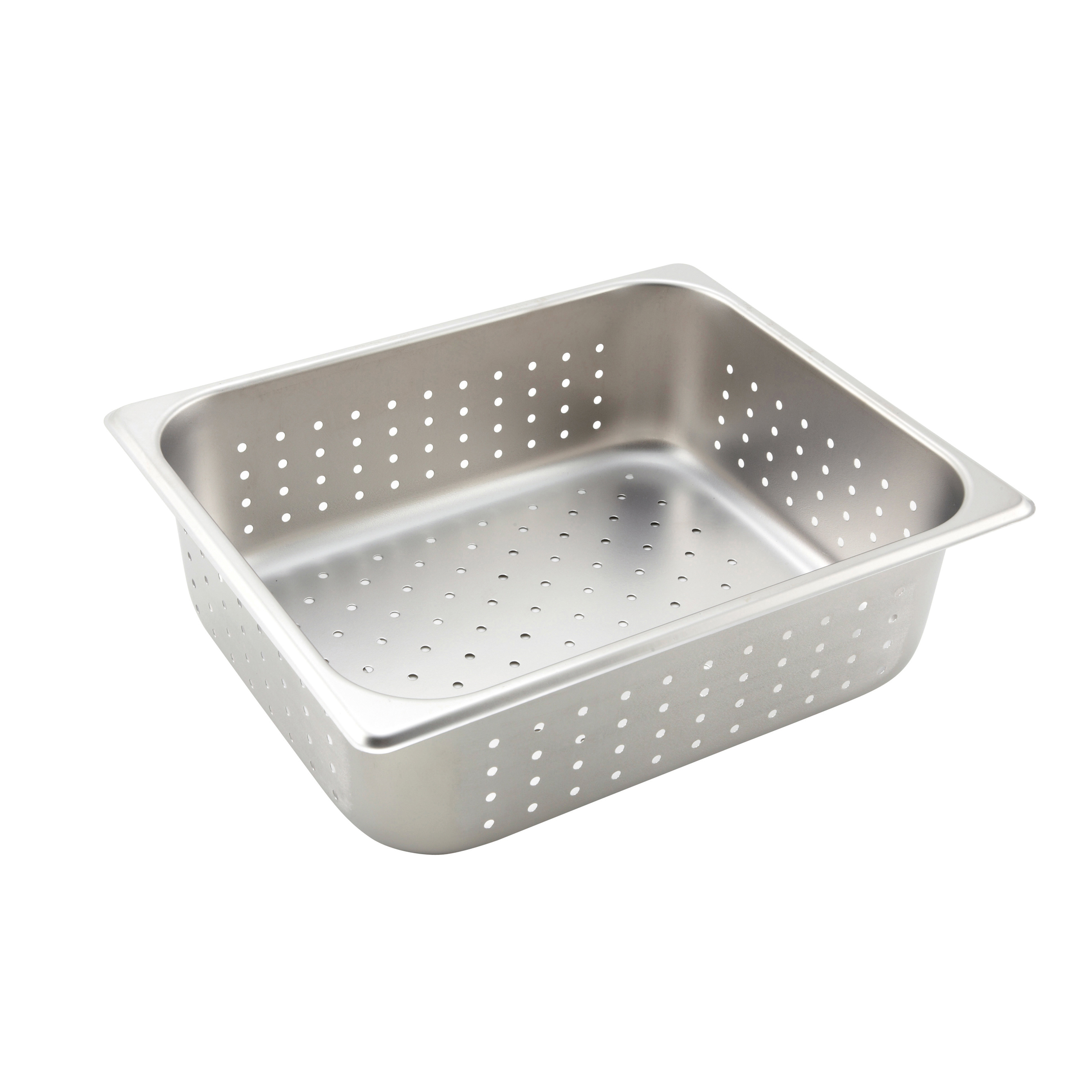 Winco SPJH-204PF steam table pan, stainless steel