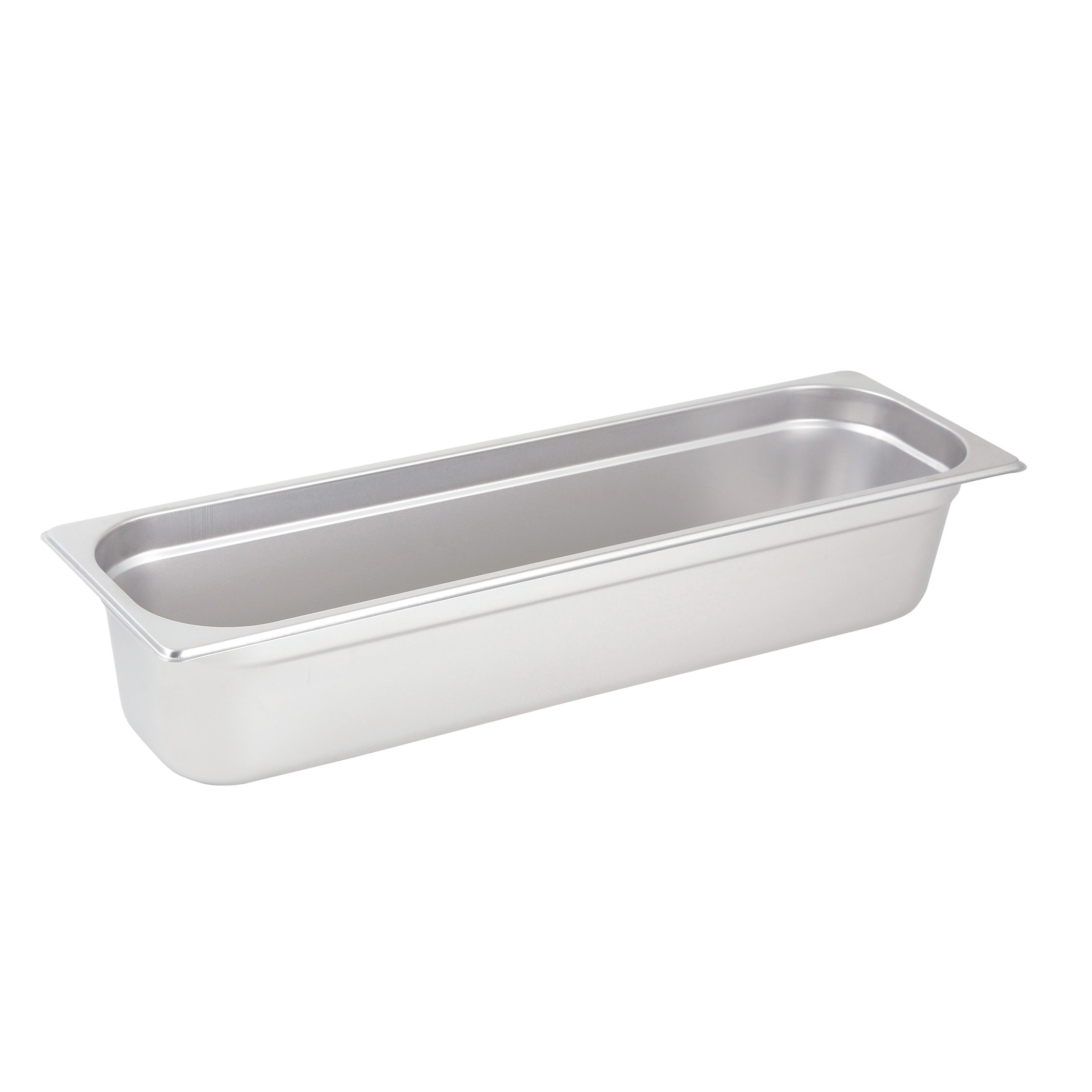 Winco SPJH-4HL steam table pan, stainless steel