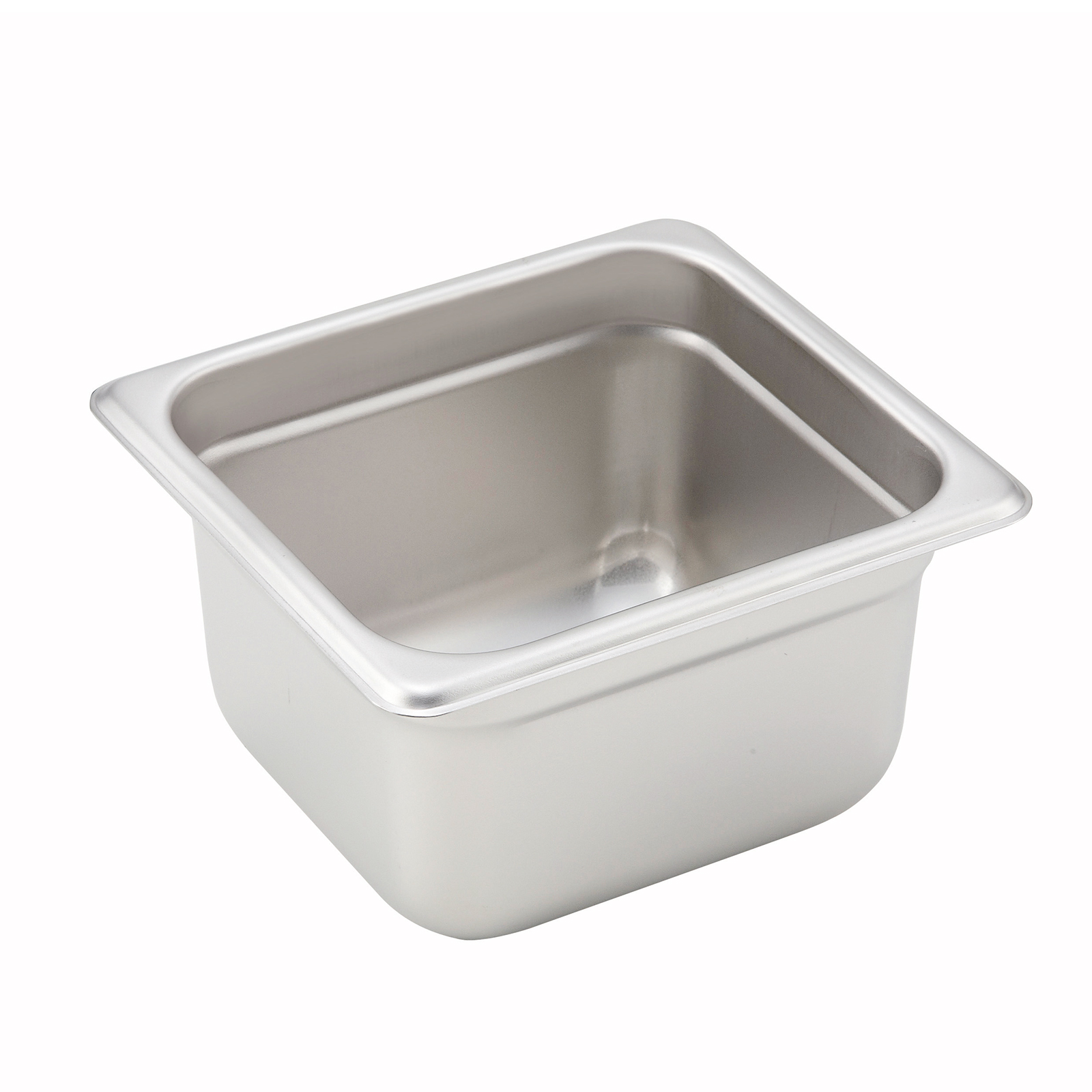 Winco SPJH-604 steam table pan, stainless steel