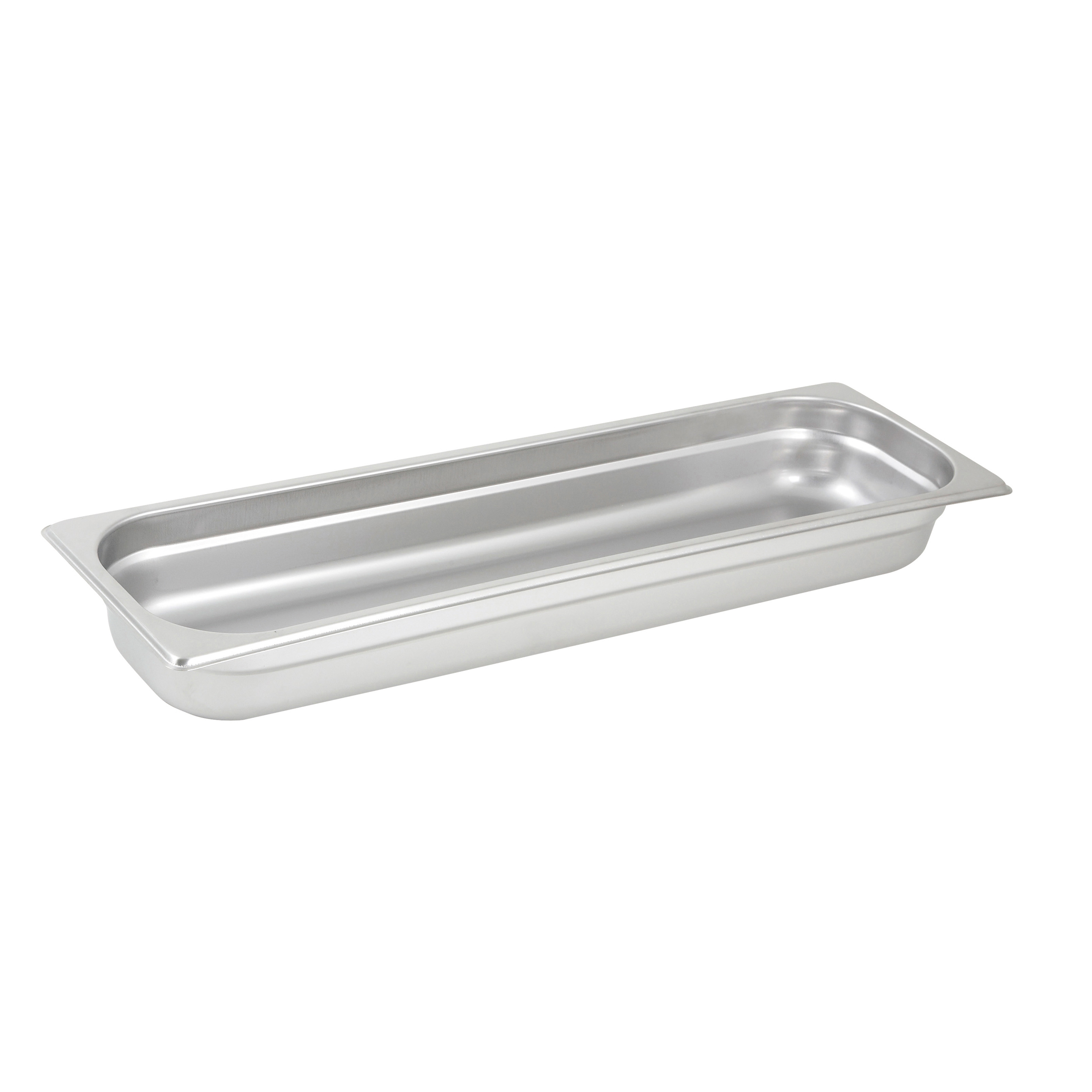 Winco SPJL-2HL steam table pan, stainless steel
