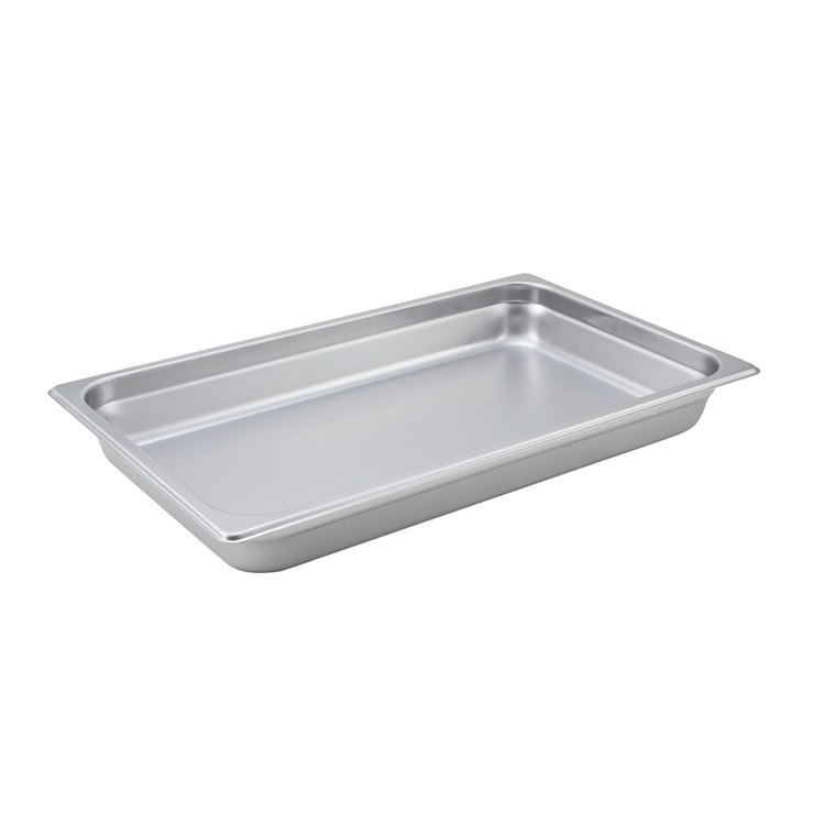 Winco SPJM-102 steam table pan, stainless steel