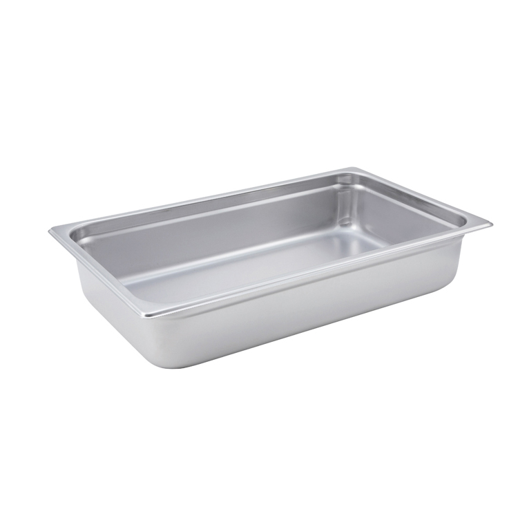Winco SPJM-104 steam table pan, stainless steel