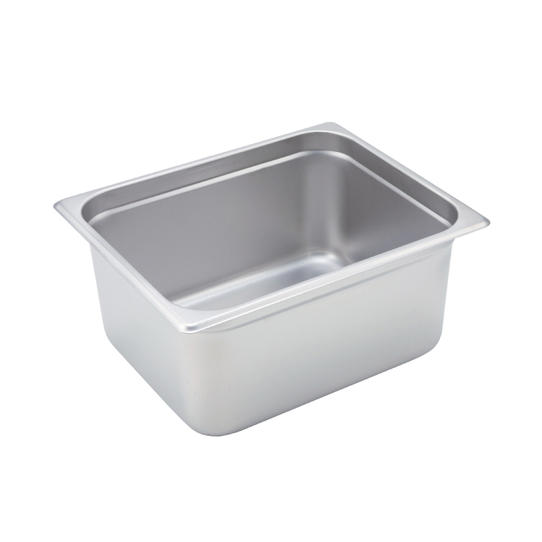 Winco SPJM-206 steam table pan, stainless steel
