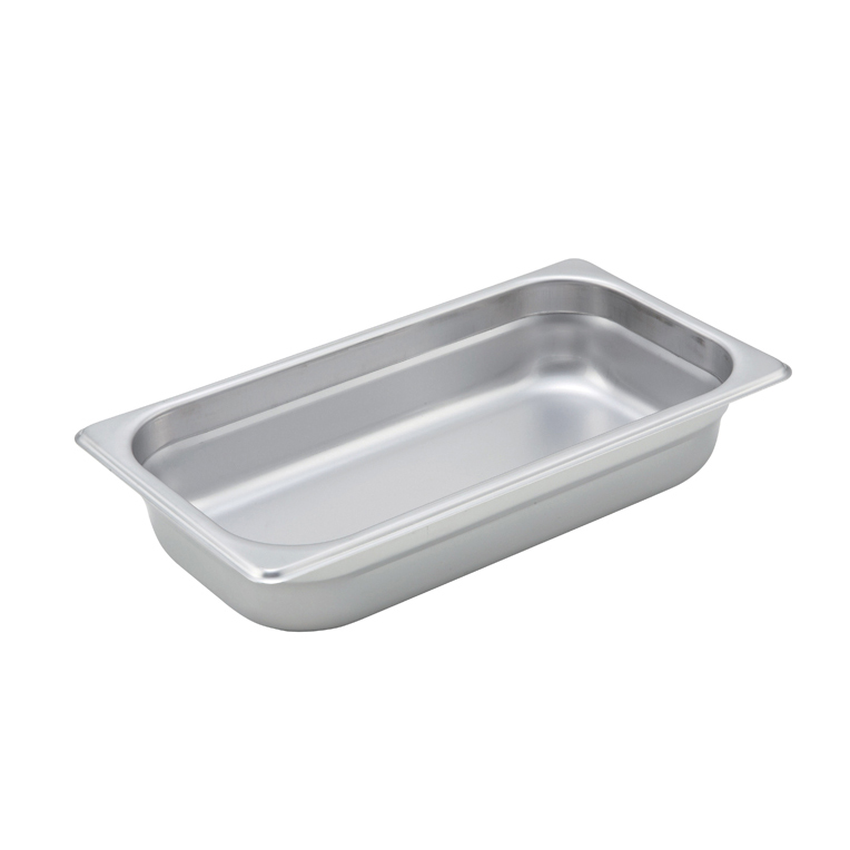 Winco SPJM-302 steam table pan, stainless steel