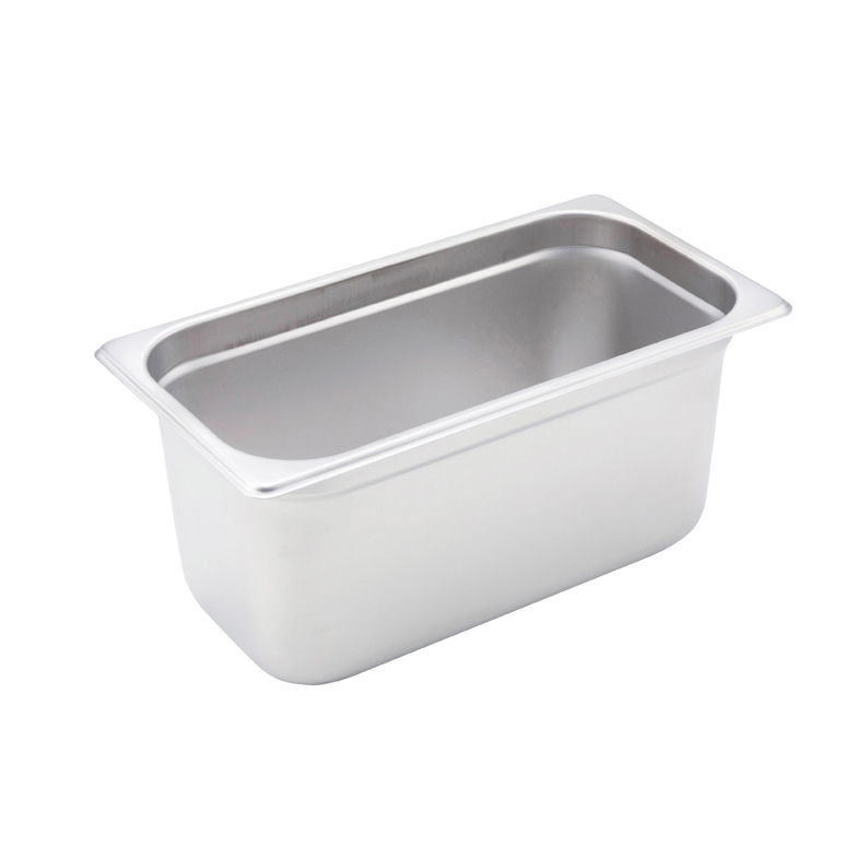 Winco SPJM-306 steam table pan, stainless steel