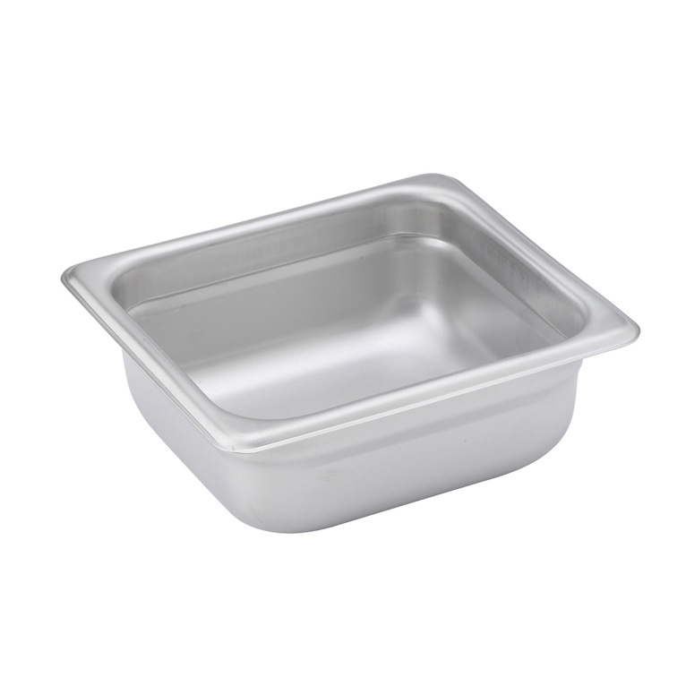 Winco SPJM-602 steam table pan, stainless steel