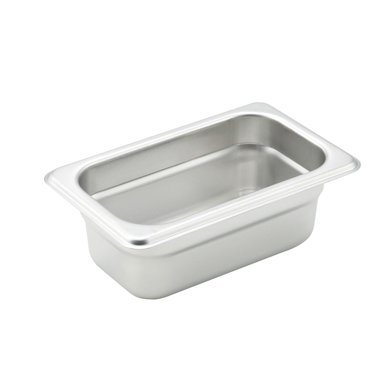 Winco SPJM-902 steam table pan, stainless steel