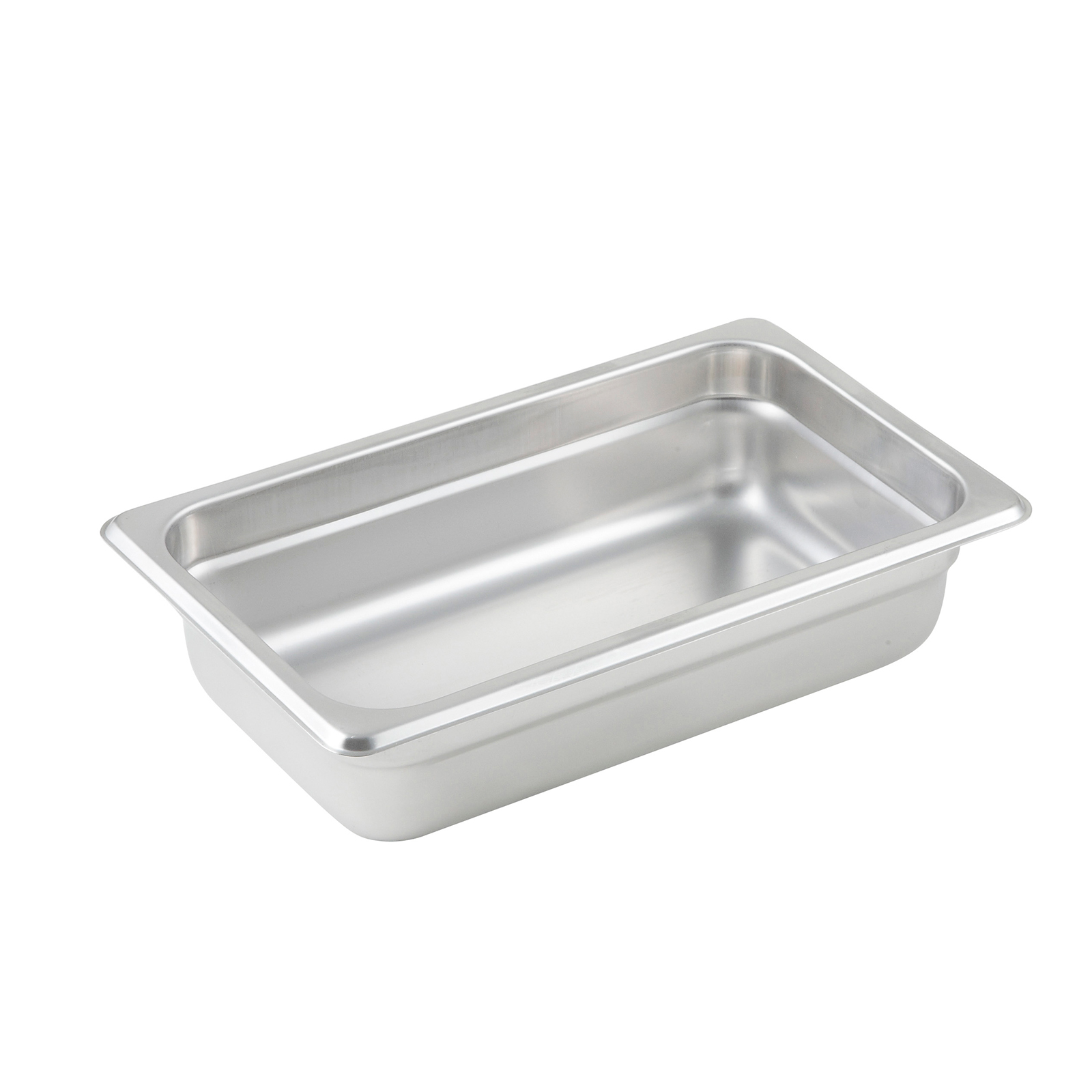 Winco SPJP-402 steam table pan, stainless steel