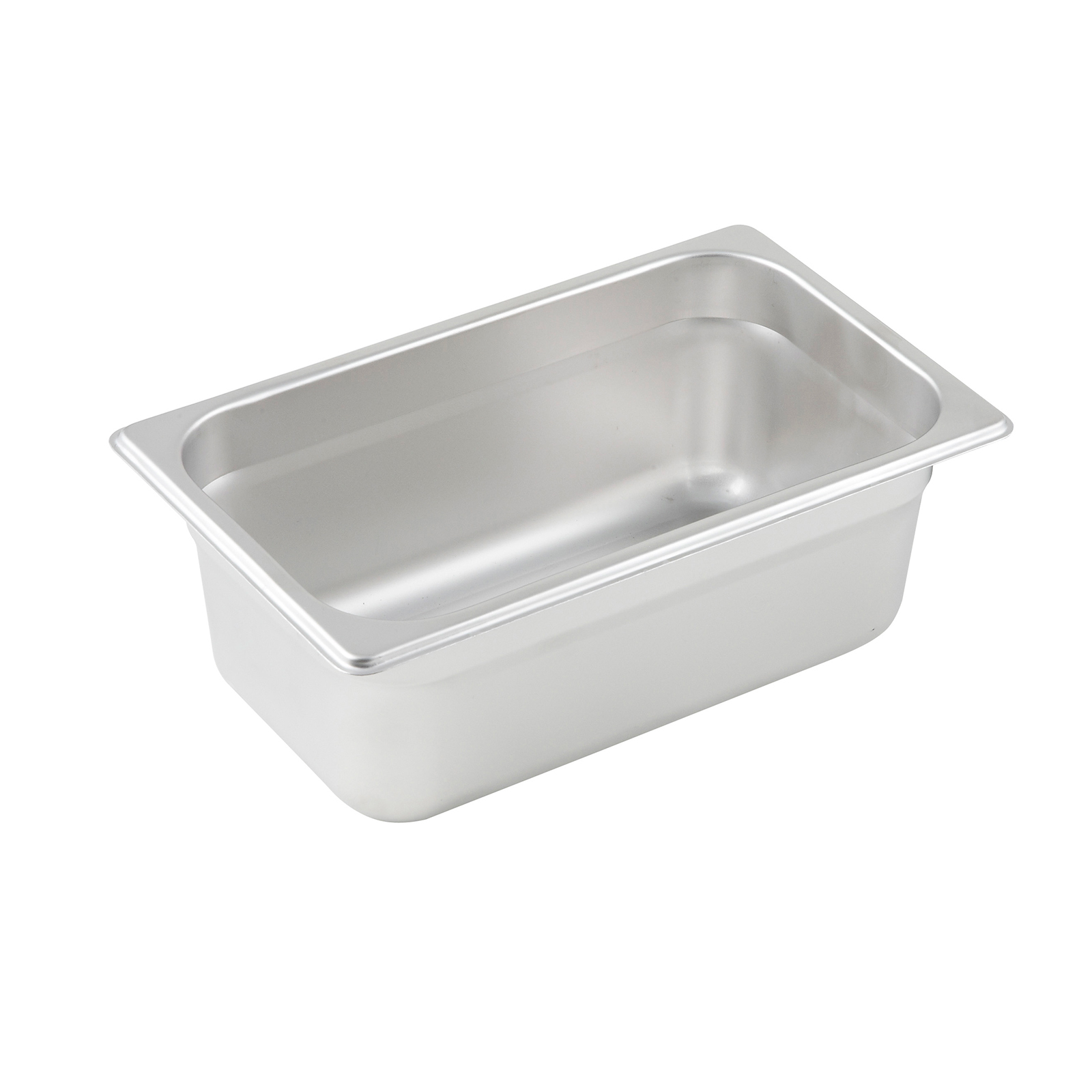 Winco SPJP-404 steam table pan, stainless steel