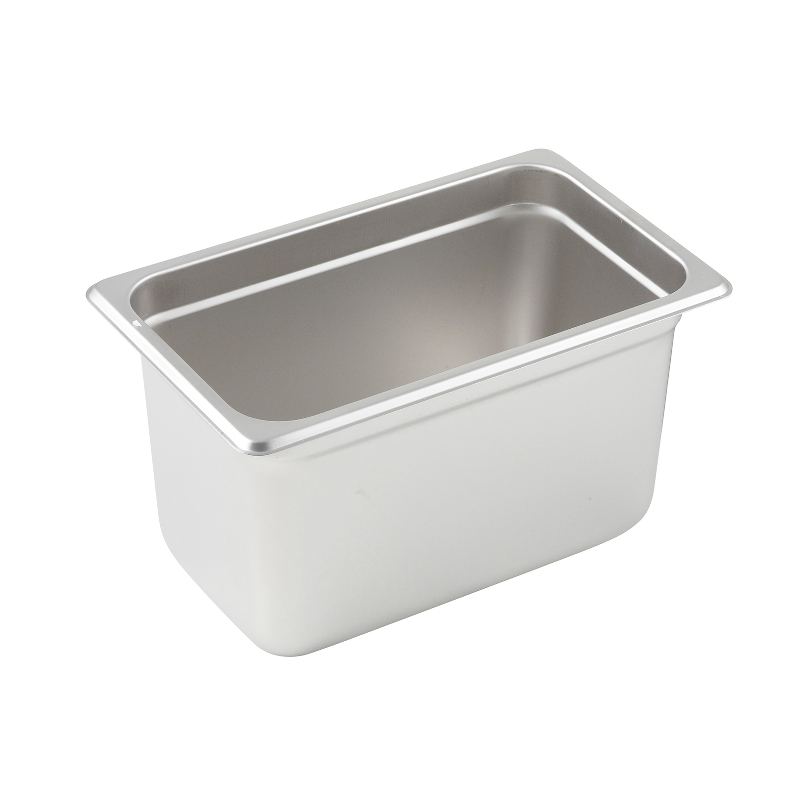 Winco SPJP-406 steam table pan, stainless steel