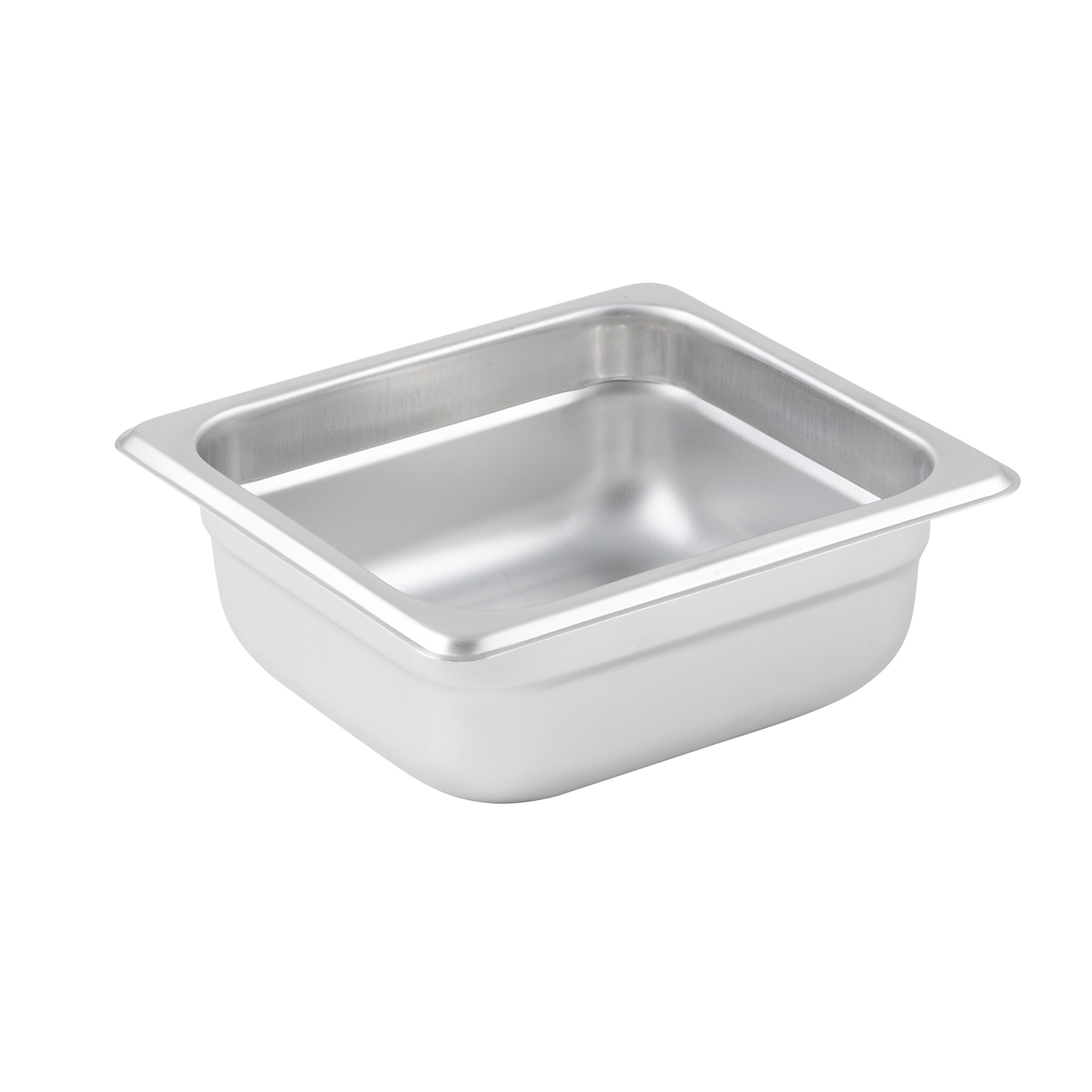Winco SPJP-602 steam table pan, stainless steel