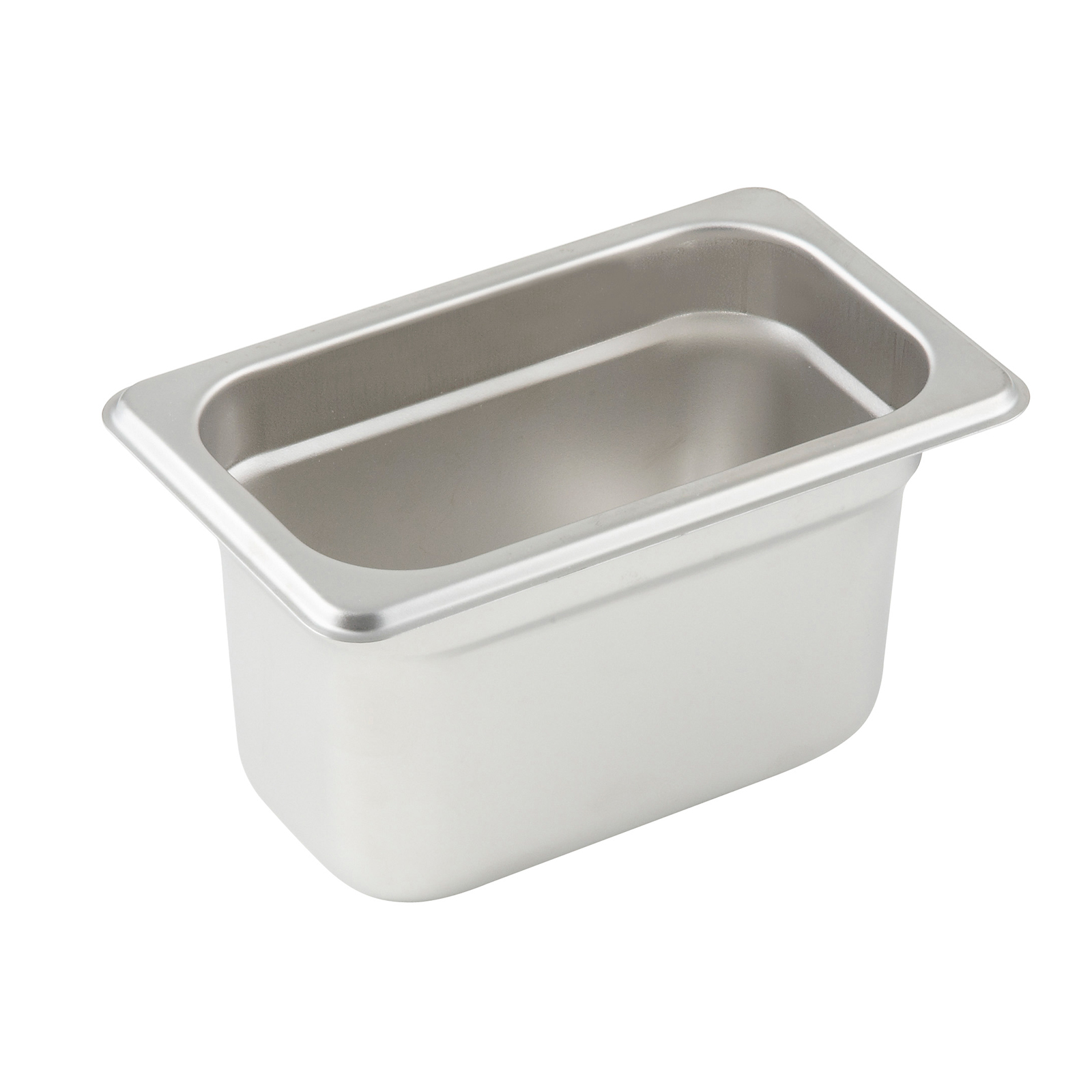 Winco SPJP-904 steam table pan, stainless steel