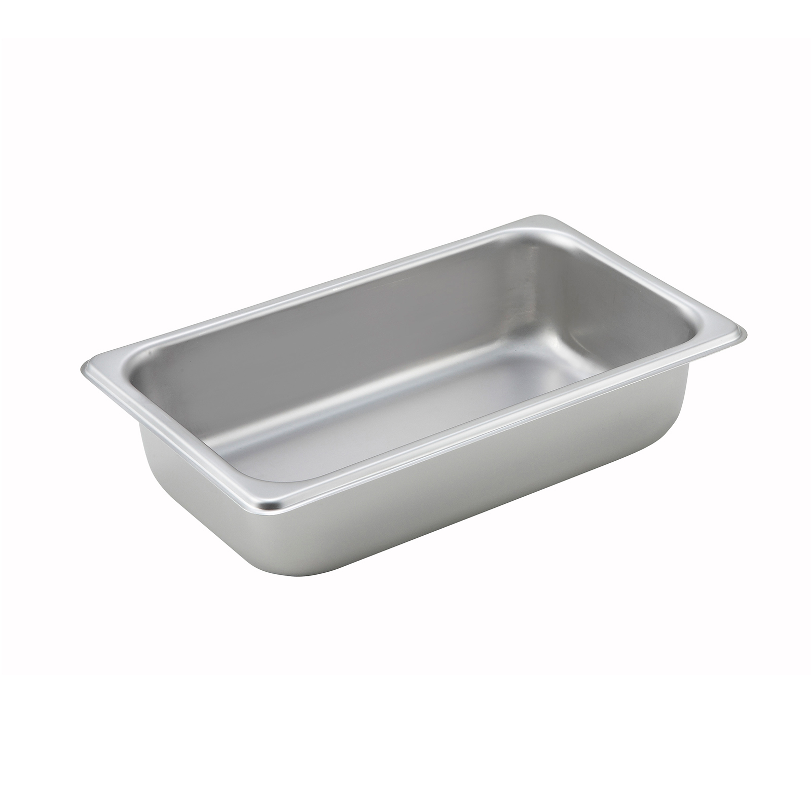 Winco SPQ2 steam table pan, stainless steel