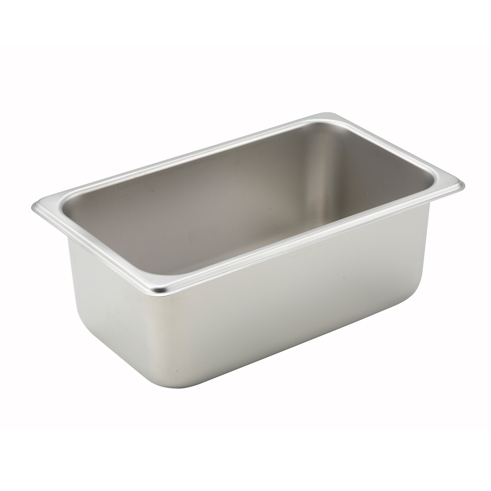 Winco SPQ4 steam table pan, stainless steel