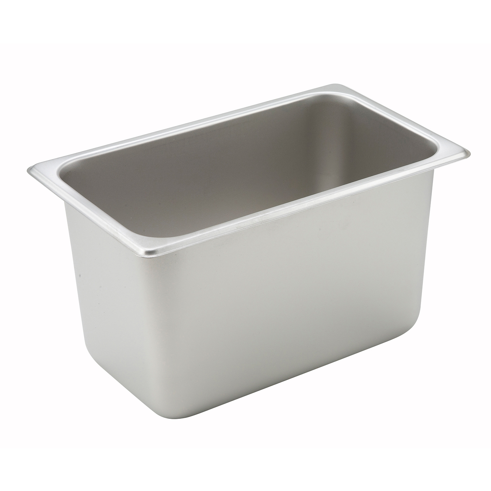 Winco SPQ6 steam table pan, stainless steel