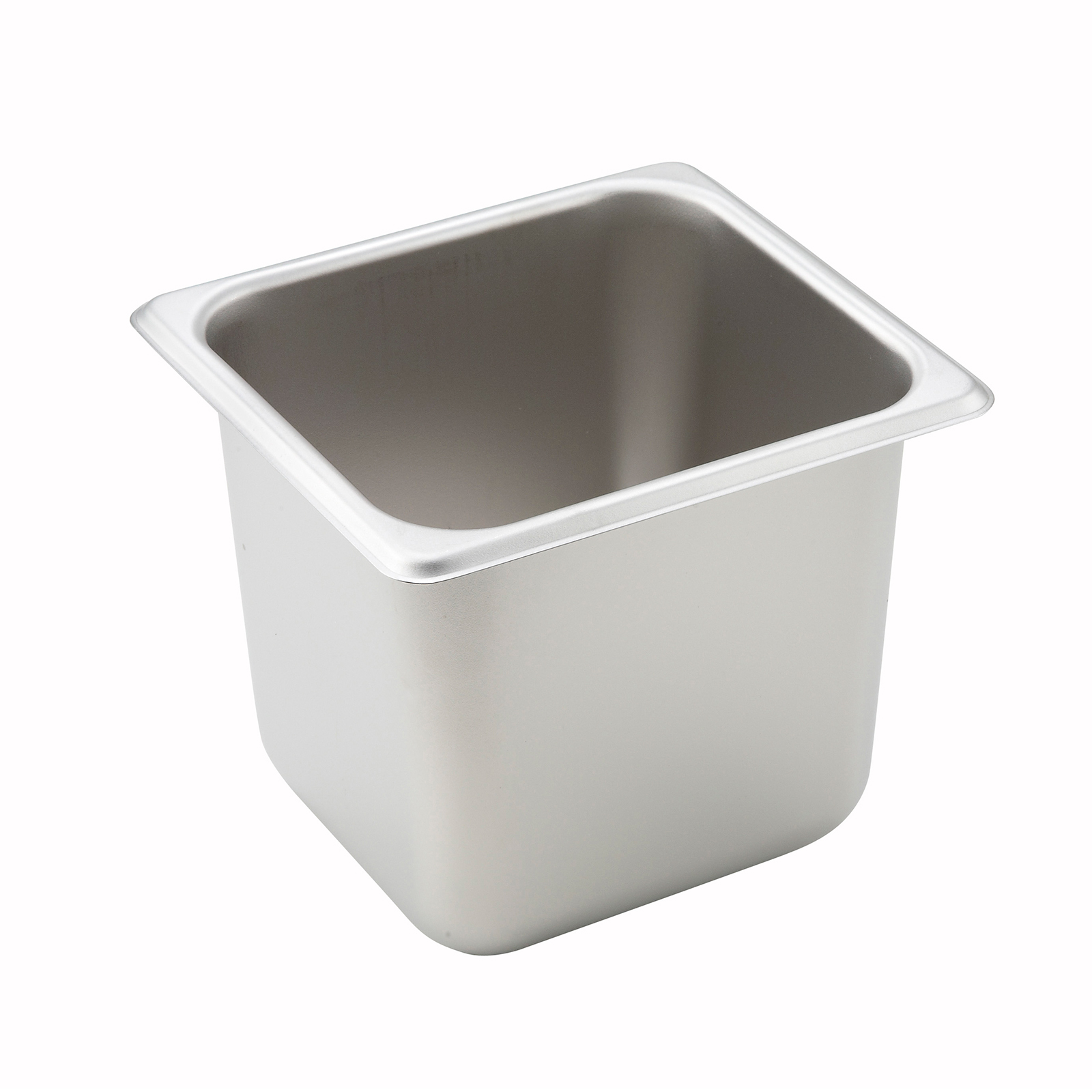 Winco SPS6 steam table pan, stainless steel