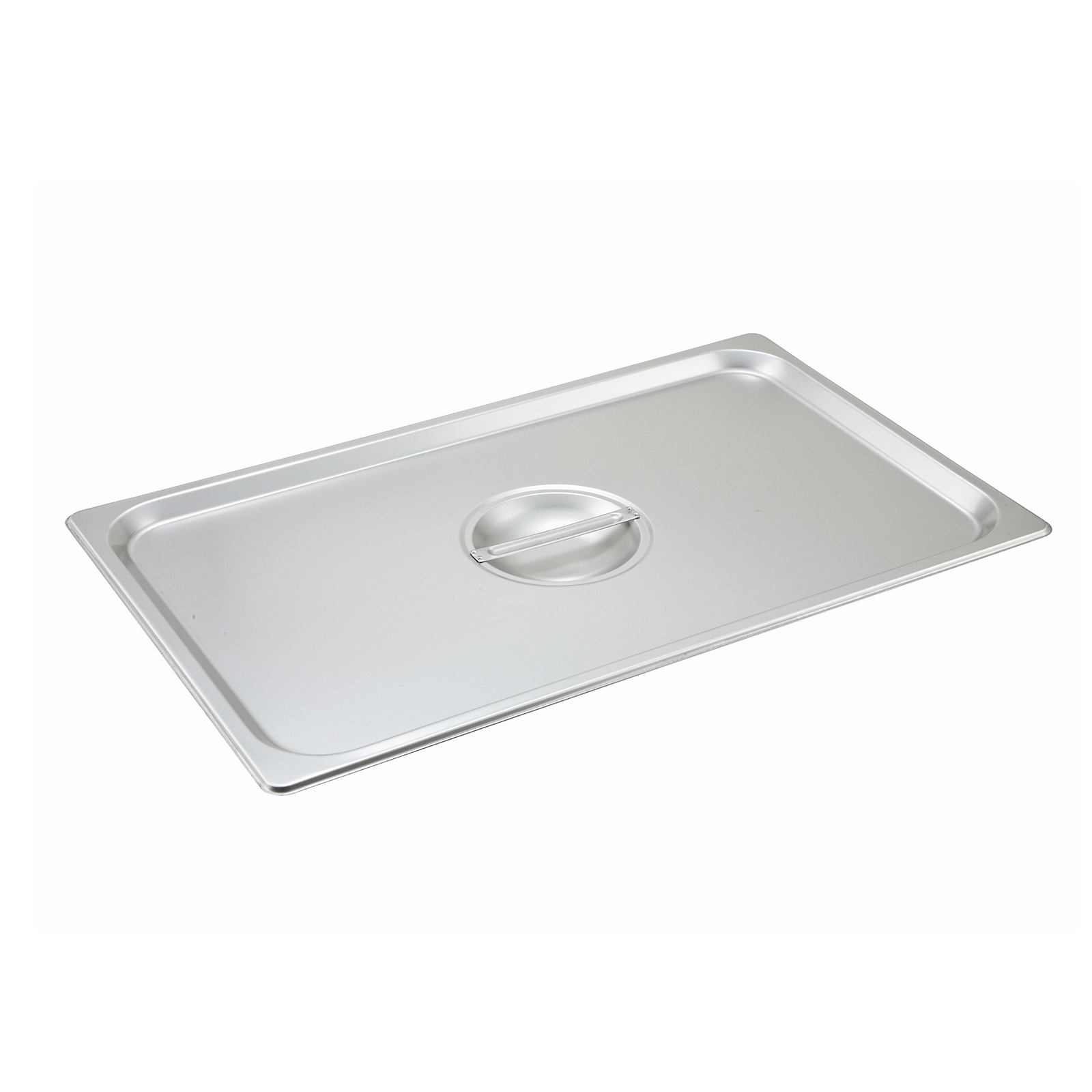 Winco SPSCF steam table pan cover, stainless steel