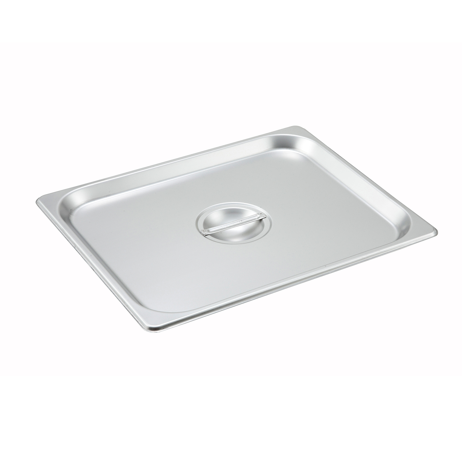 Winco SPSCH steam table pan cover, stainless steel