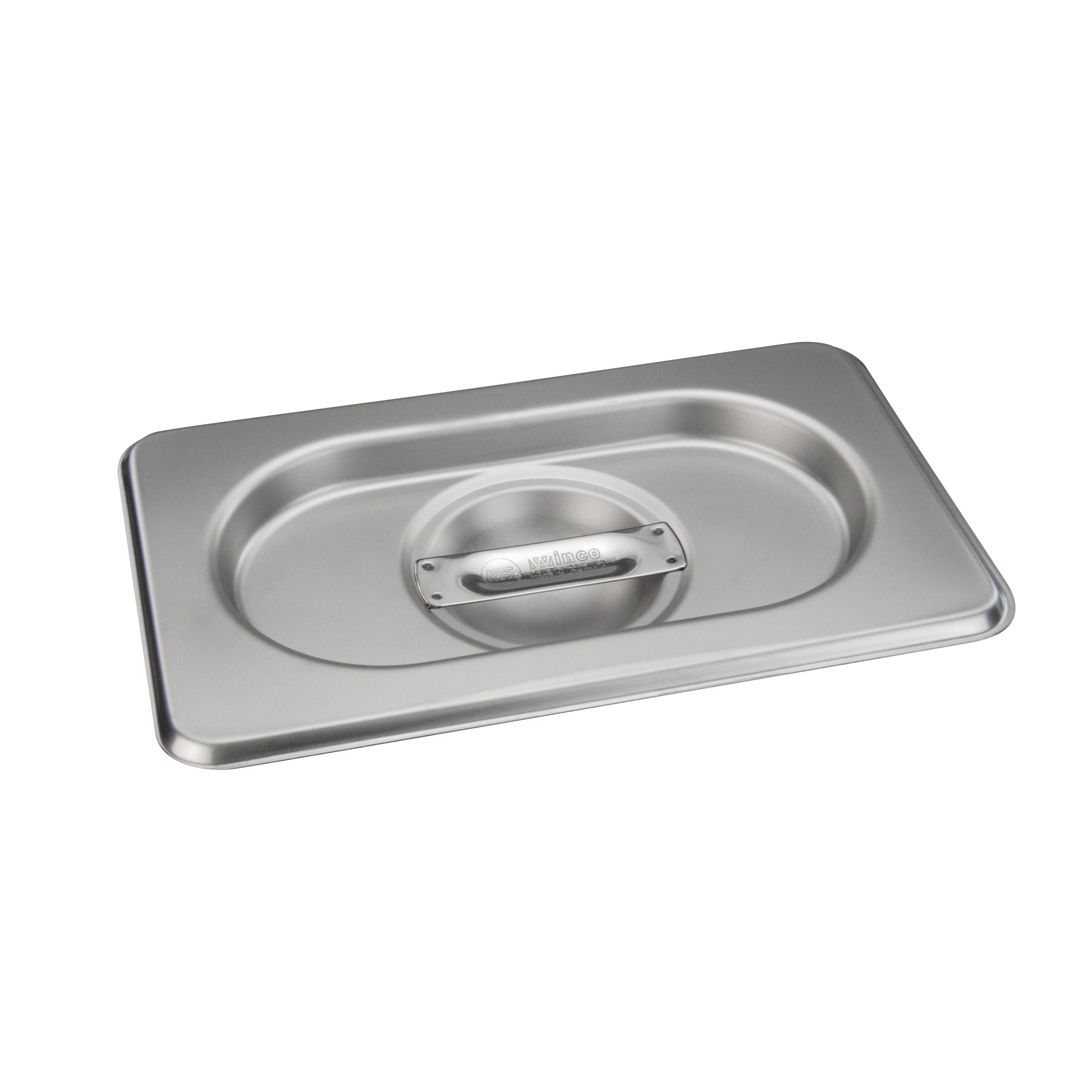Winco SPSCN-GN steam table pan cover, stainless steel