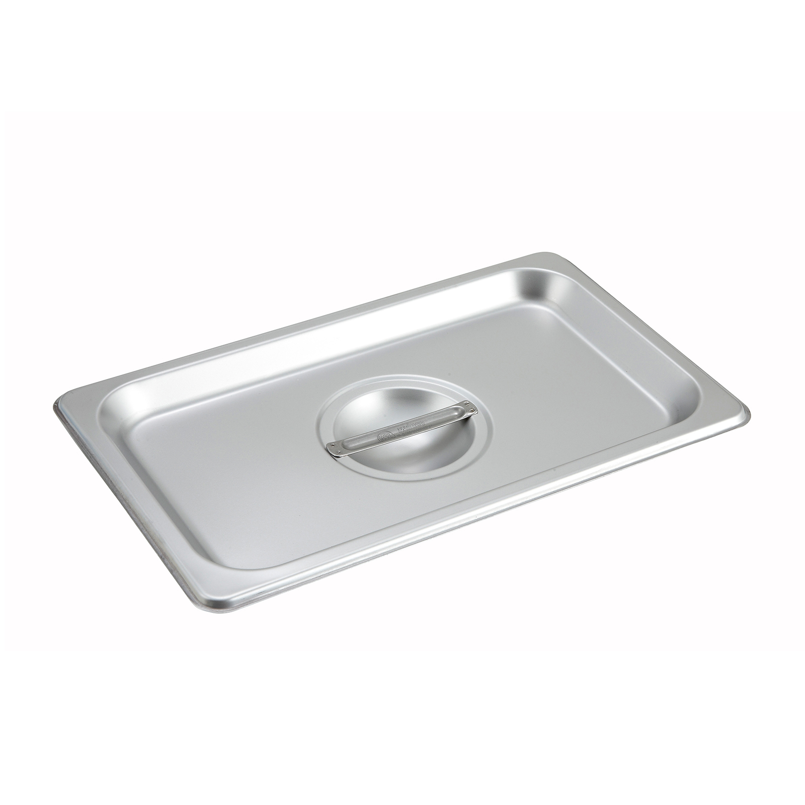 Winco SPSCQ steam table pan cover, stainless steel