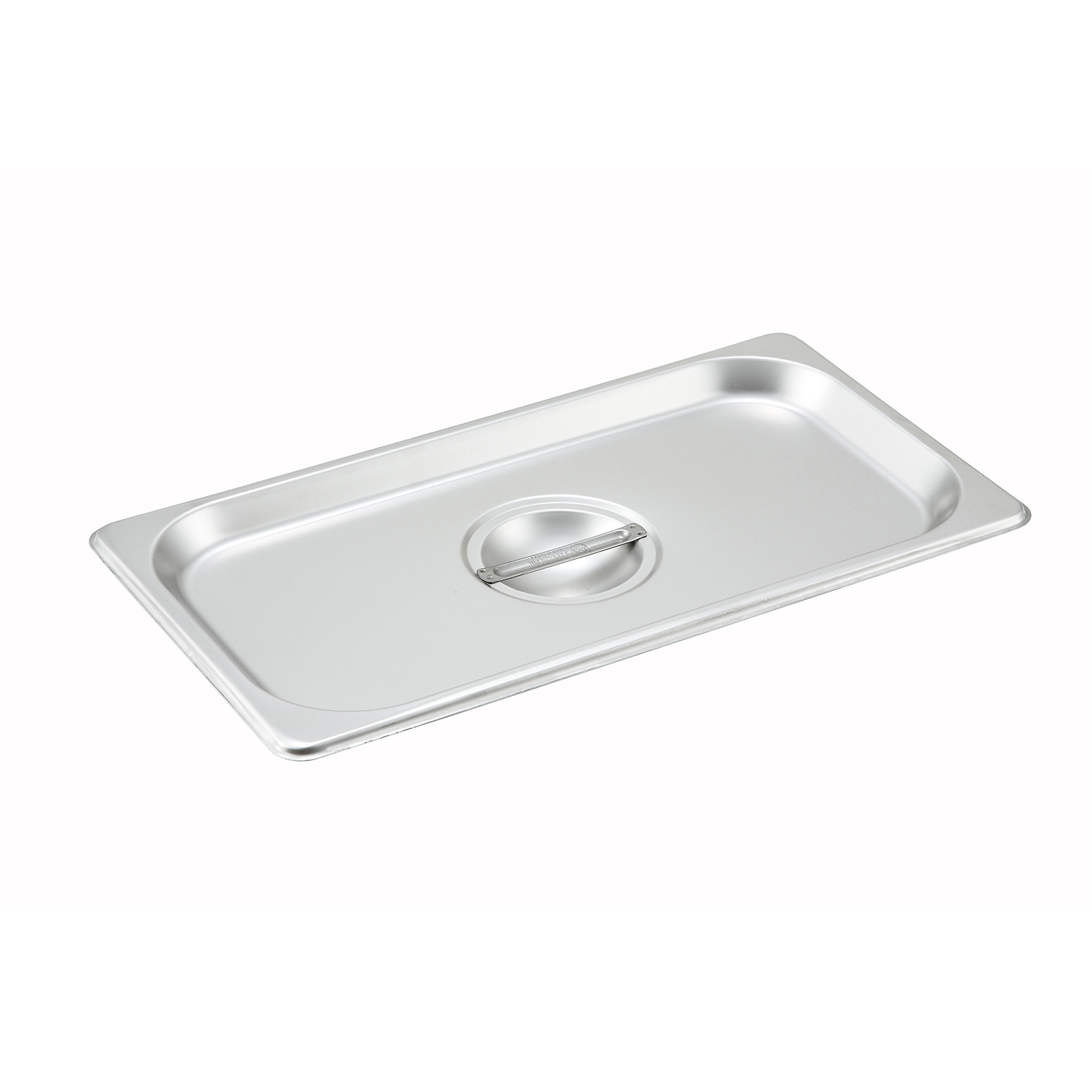 Winco SPSCT steam table pan cover, stainless steel