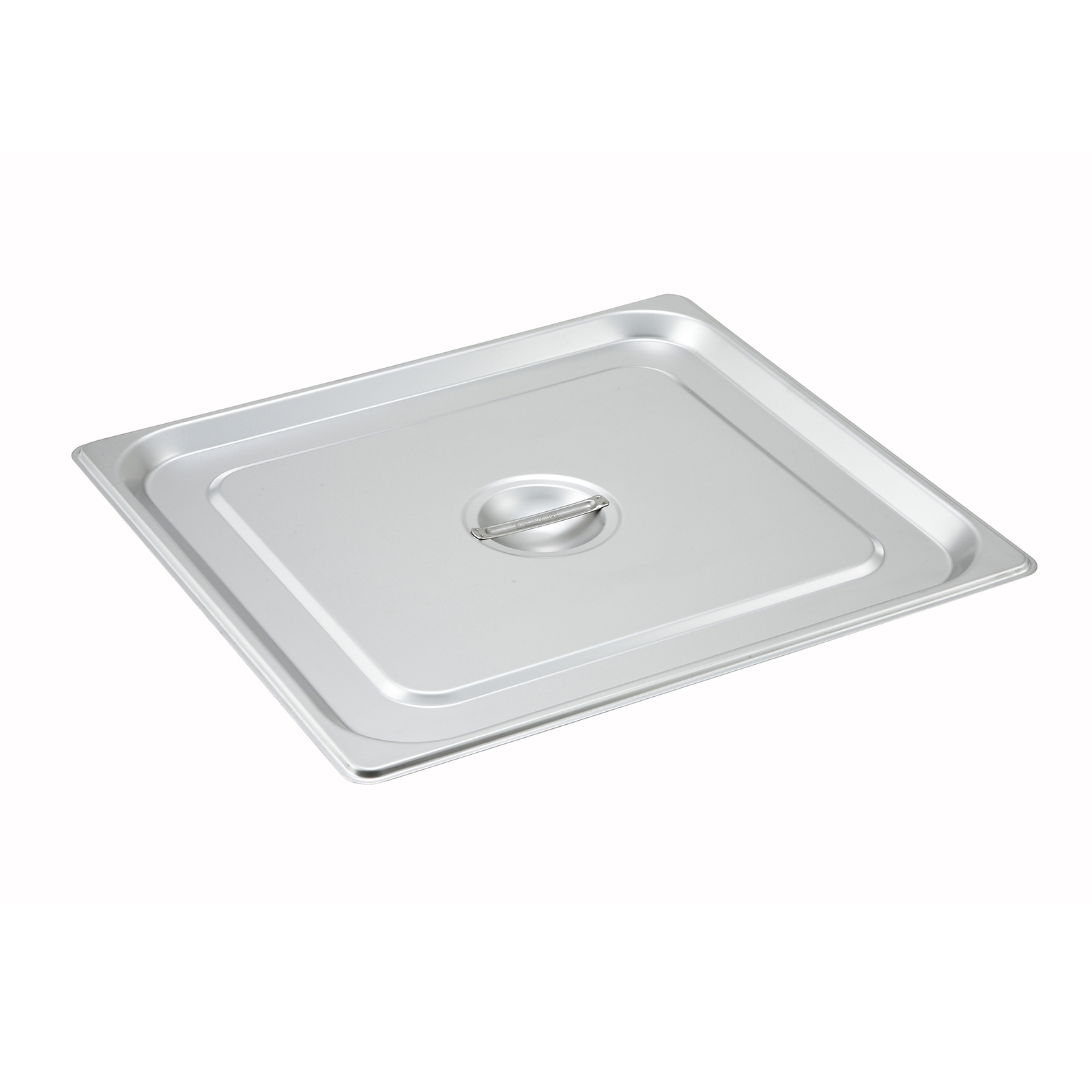 Winco SPSCTT steam table pan cover, stainless steel