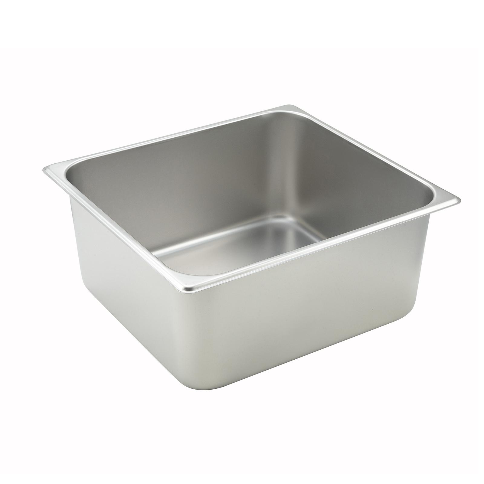 Winco SPTT6 steam table pan, stainless steel