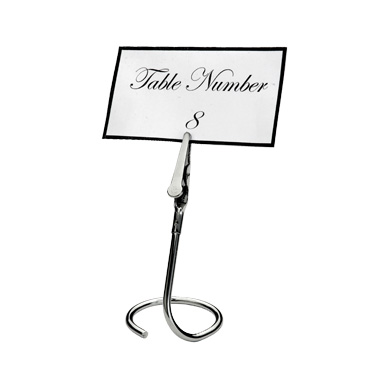 Winco TCD-3C menu card holder / number stand