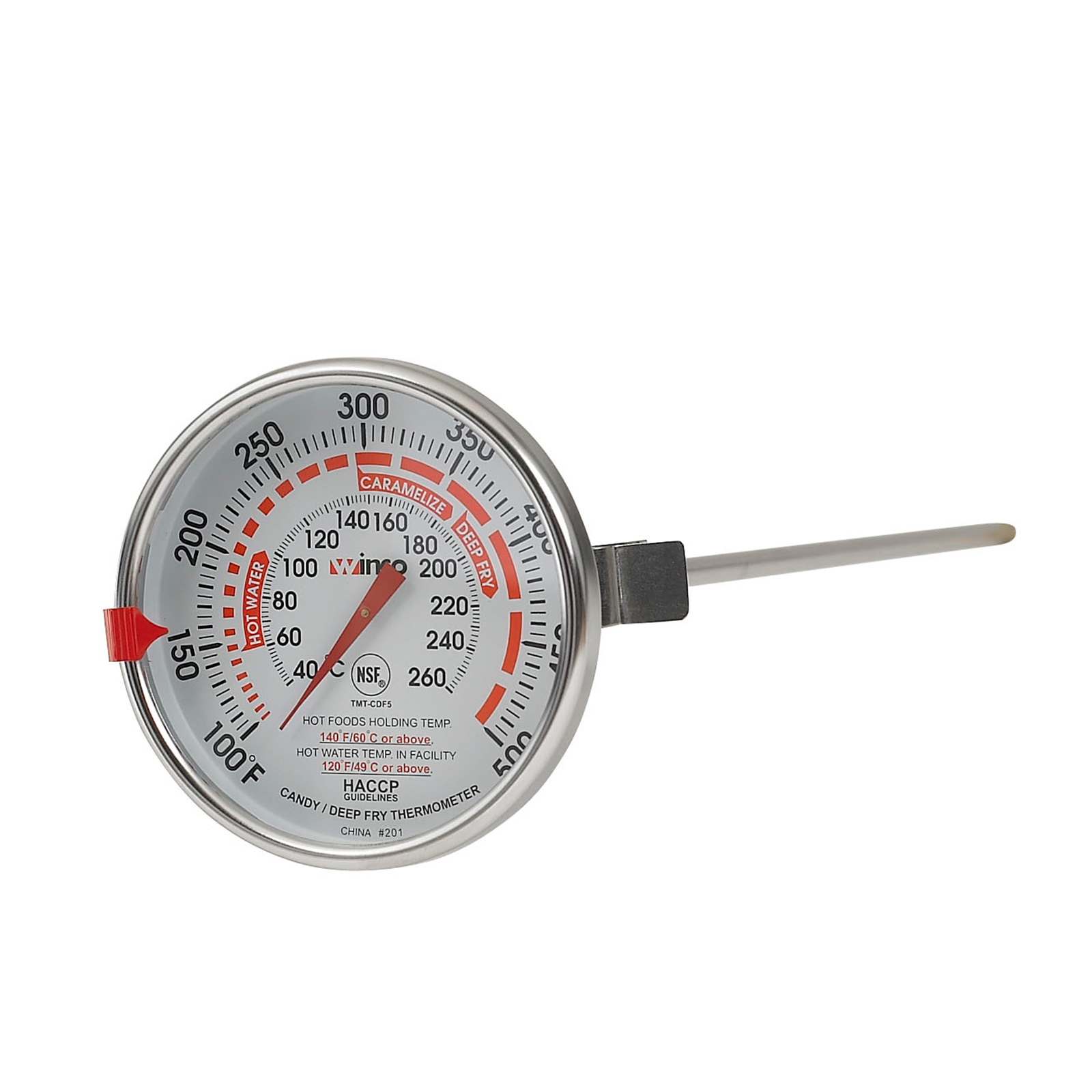Winco TMT-CDF5 thermometer, deep fry / candy