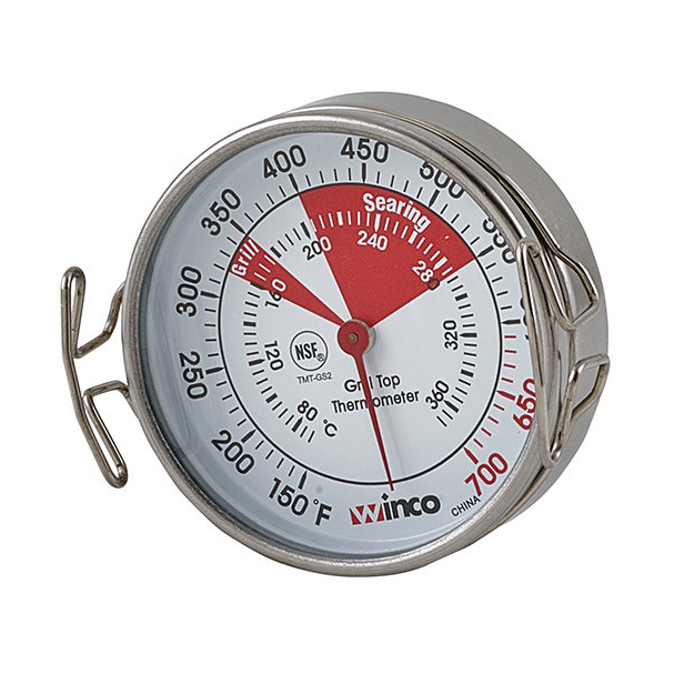 Winco TMT-GS2 thermometer, grill