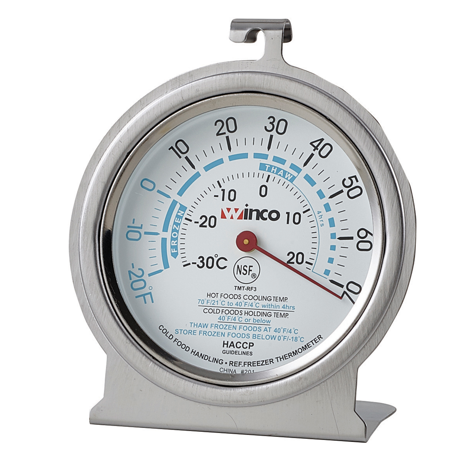 Winco TMT-RF3 thermometer, refrig freezer