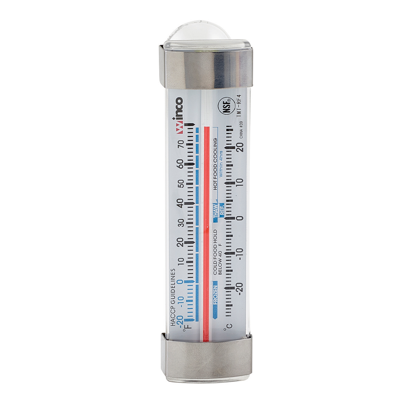 Winco TMT-RF4 thermometer, refrig freezer