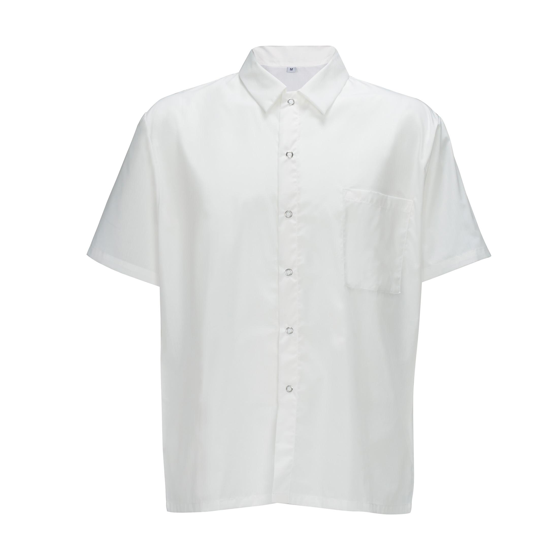 Winco UNF-1W3XL cook's shirt