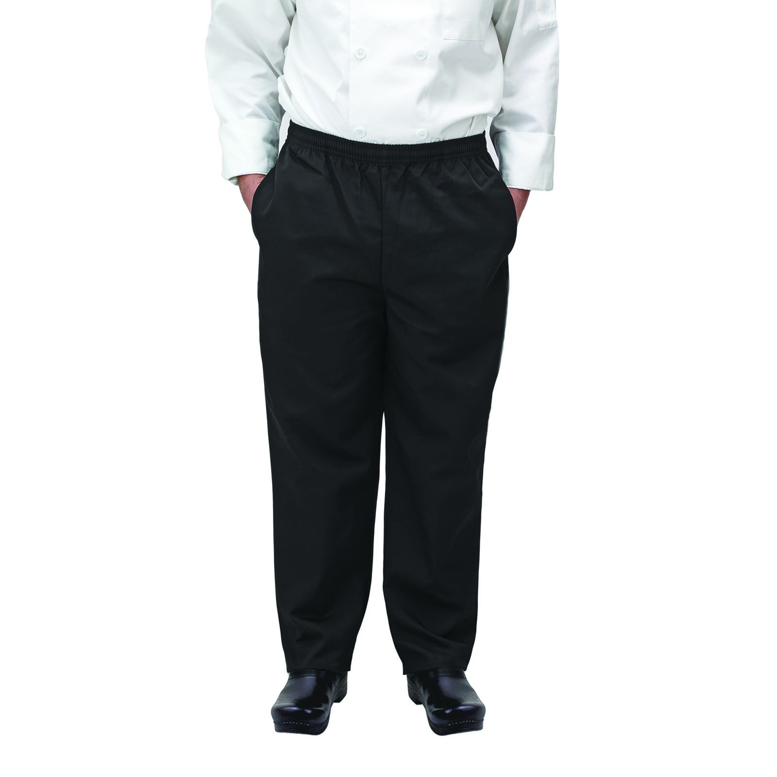 Winco UNF-2KL chef's pants