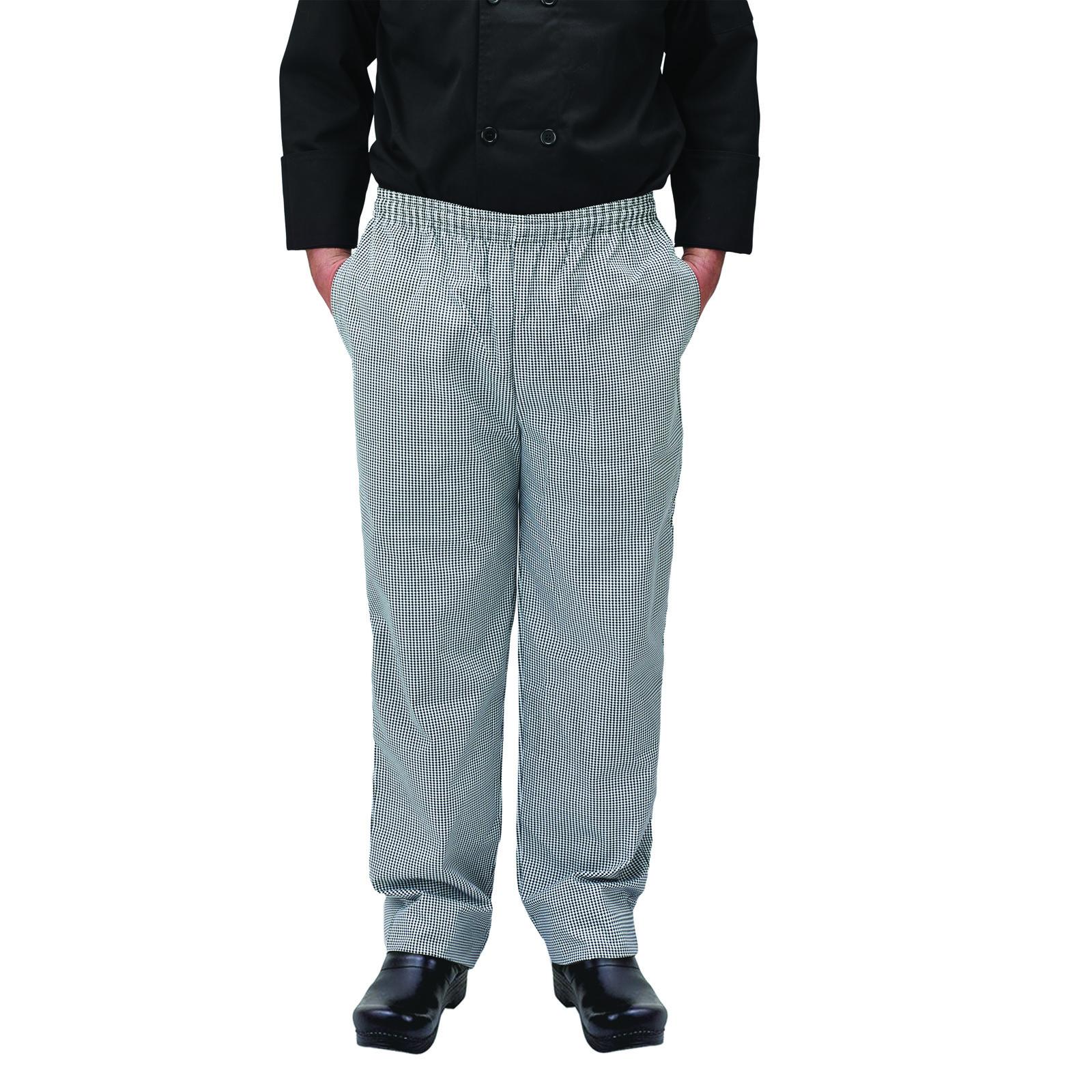 Winco UNF-4KS chef's pants