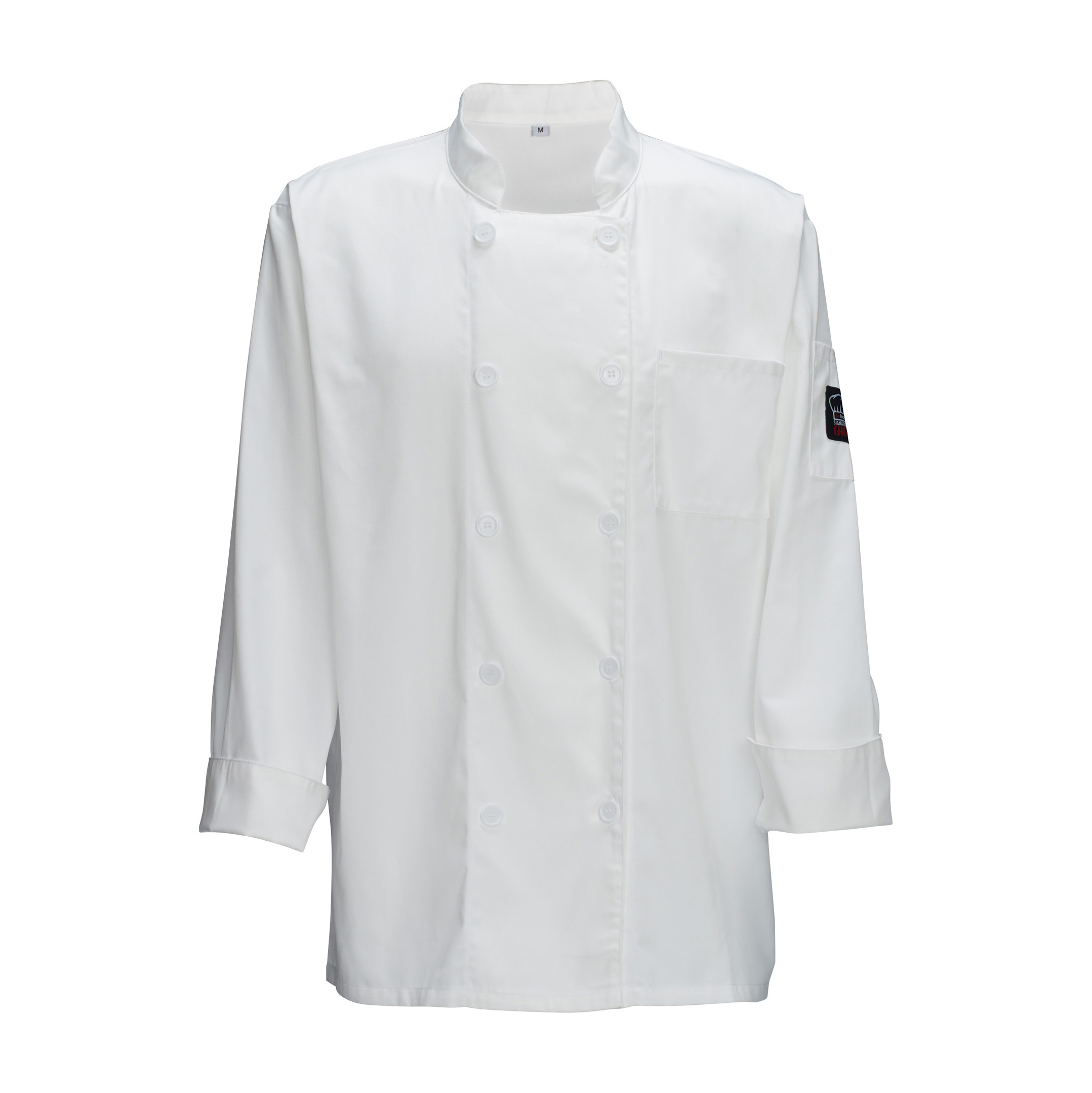 Winco UNF-5W3XL chef's coat