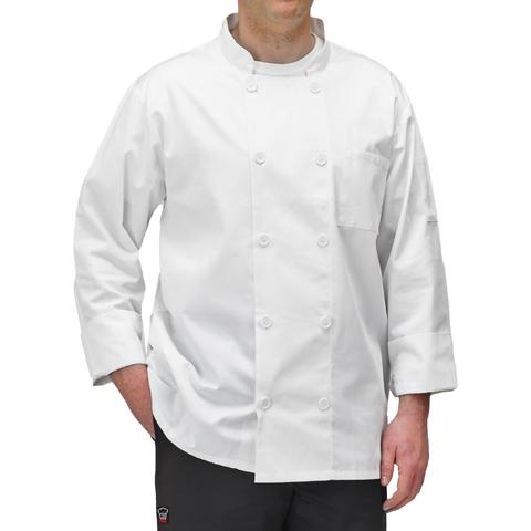 Winco UNF-5WS chef's coat