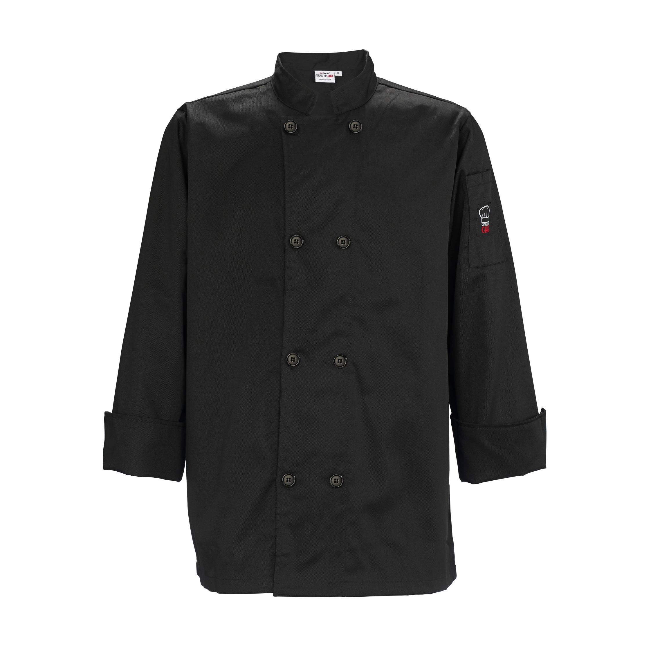 Winco UNF-6K4XL chef's coat