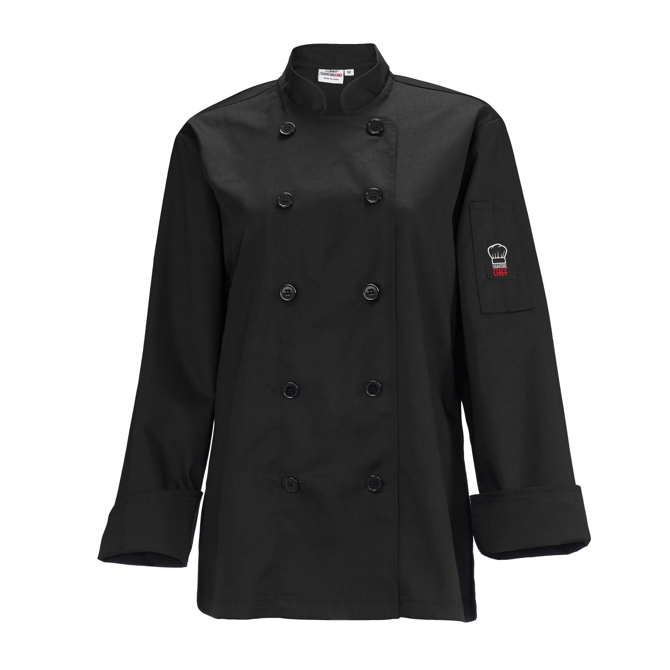 Winco UNF-7KS chef's coat
