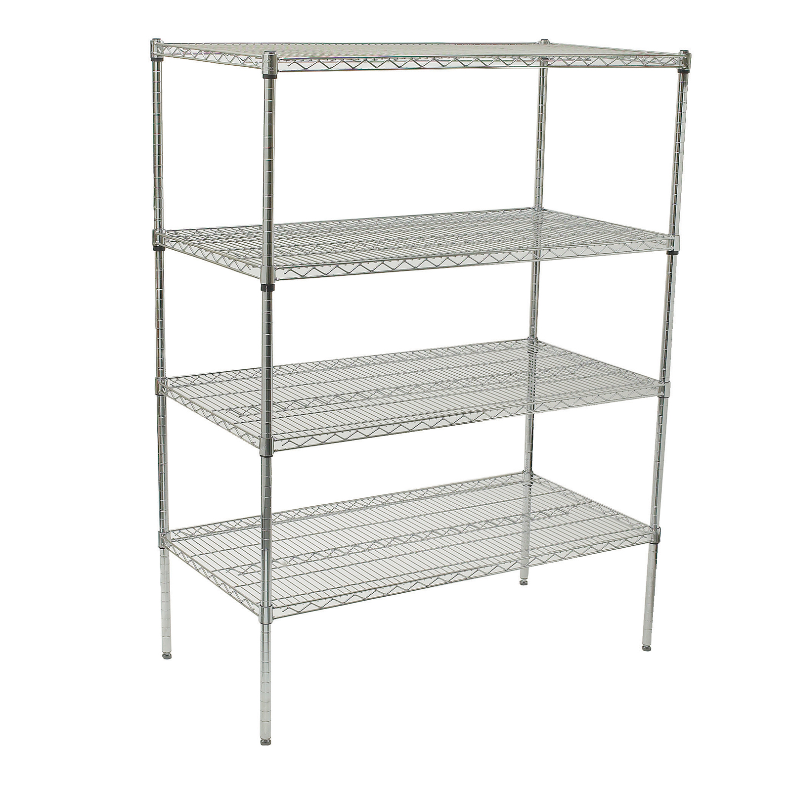 Winco VCS-2448 shelving unit, wire