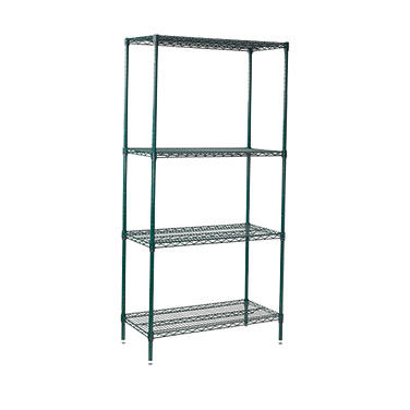 Winco VEXS-1848 shelving unit, wire
