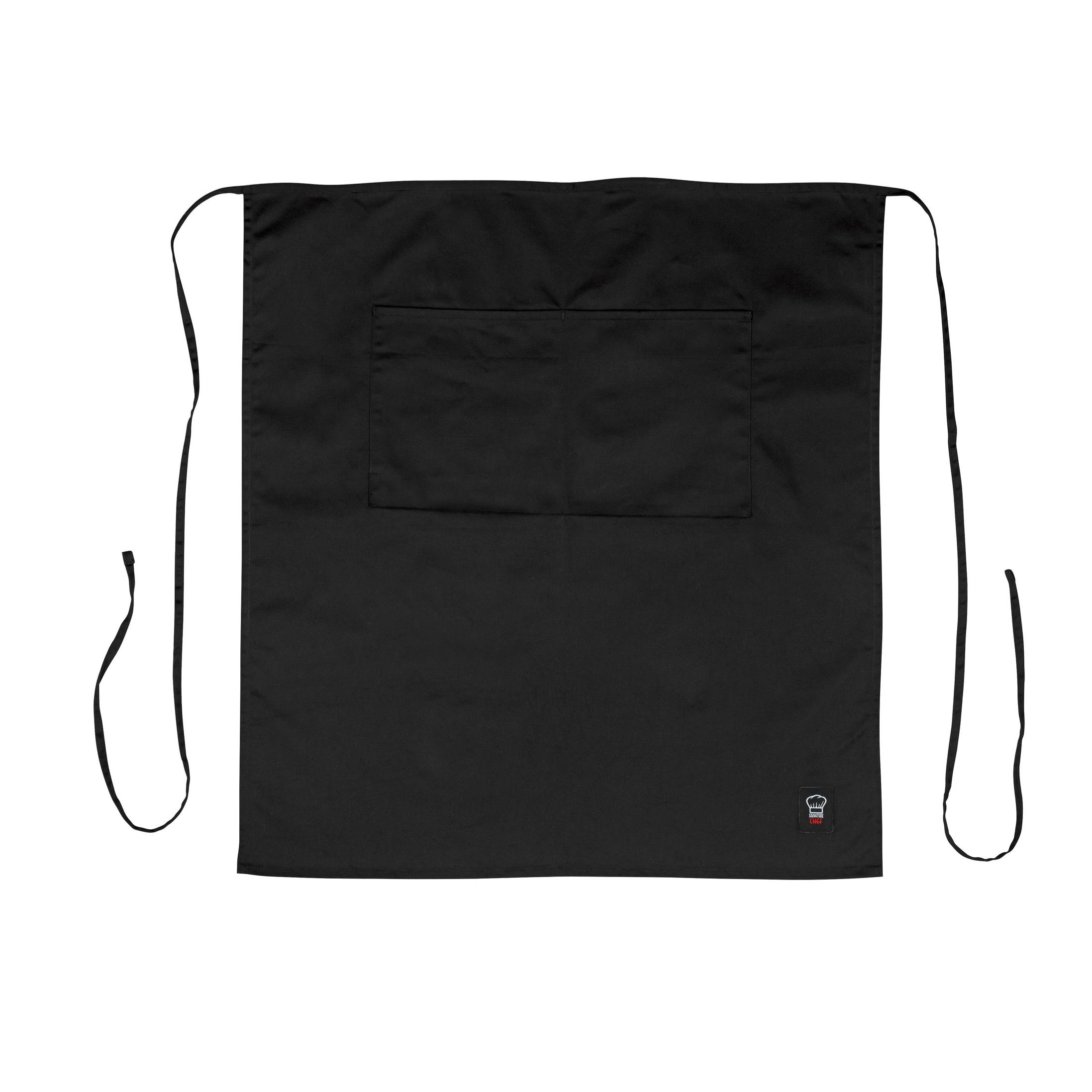 Winco WA-3129BK waist apron