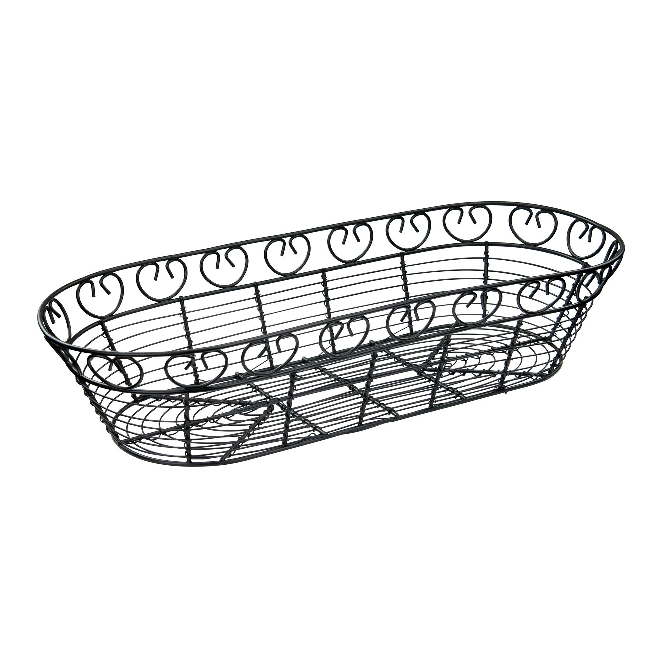 Winco WBKG-15 basket, tabletop, metal